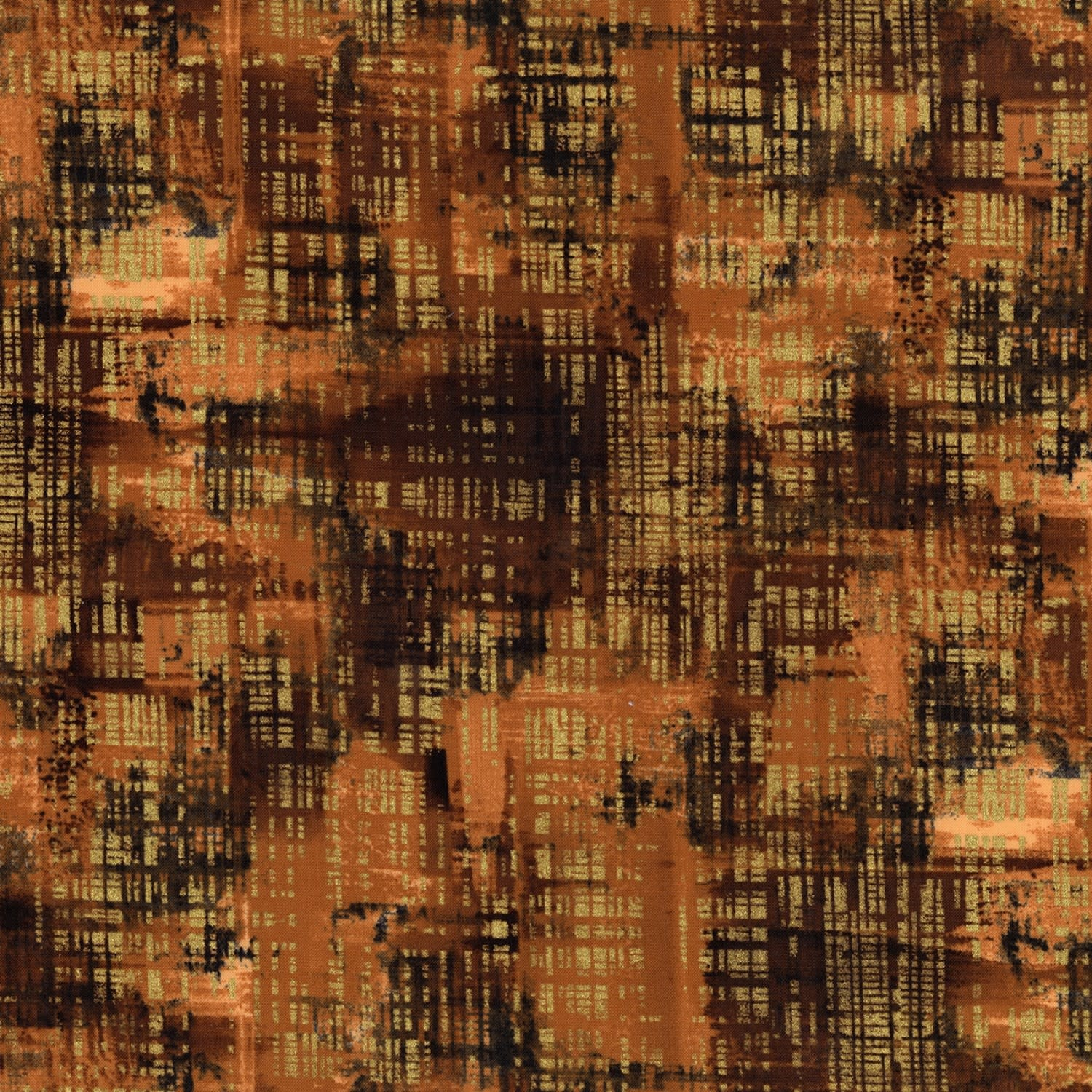 TIMELESS TREASURES Gilded City, Brushed, Multi (8156-MUL) $0.20 per cm or $20/m