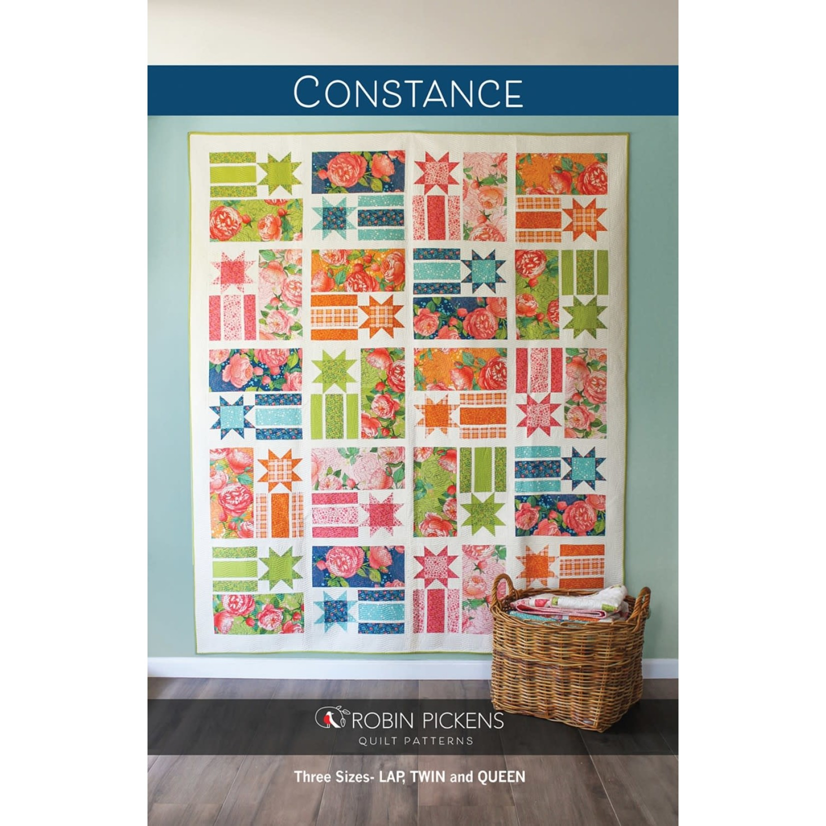 Robin Pickens Quilt Patterns Constance Quilt Pattern