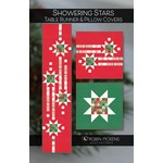 Robin Pickens Quilt Patterns Showering Stars Table Runner & Pillow Covers Pattern