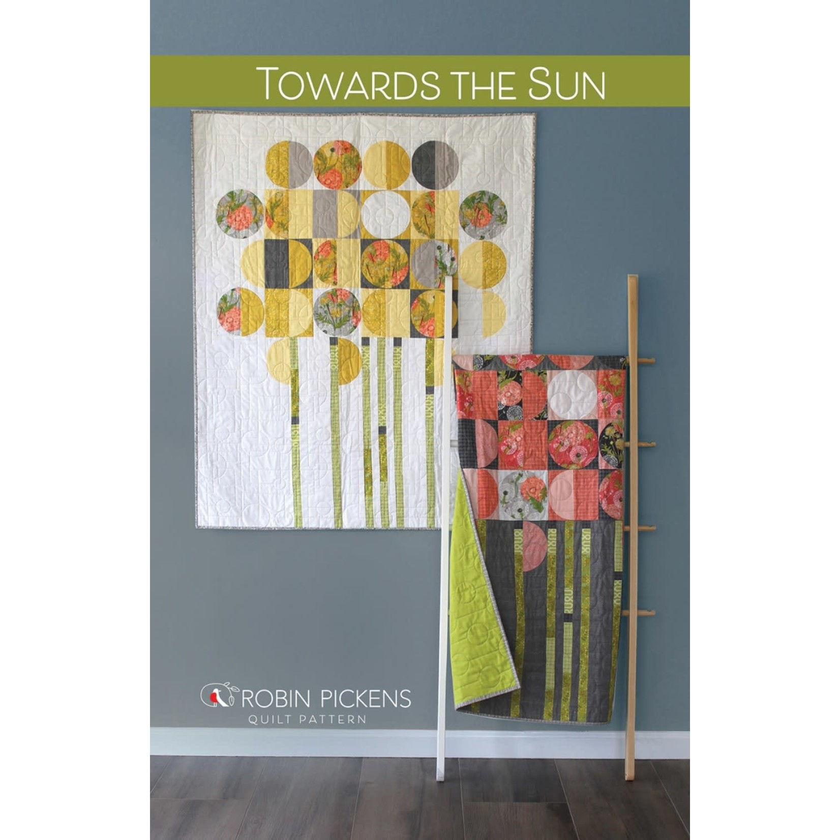 Robin Pickens Quilt Patterns Towards The Sun Quilt Pattern