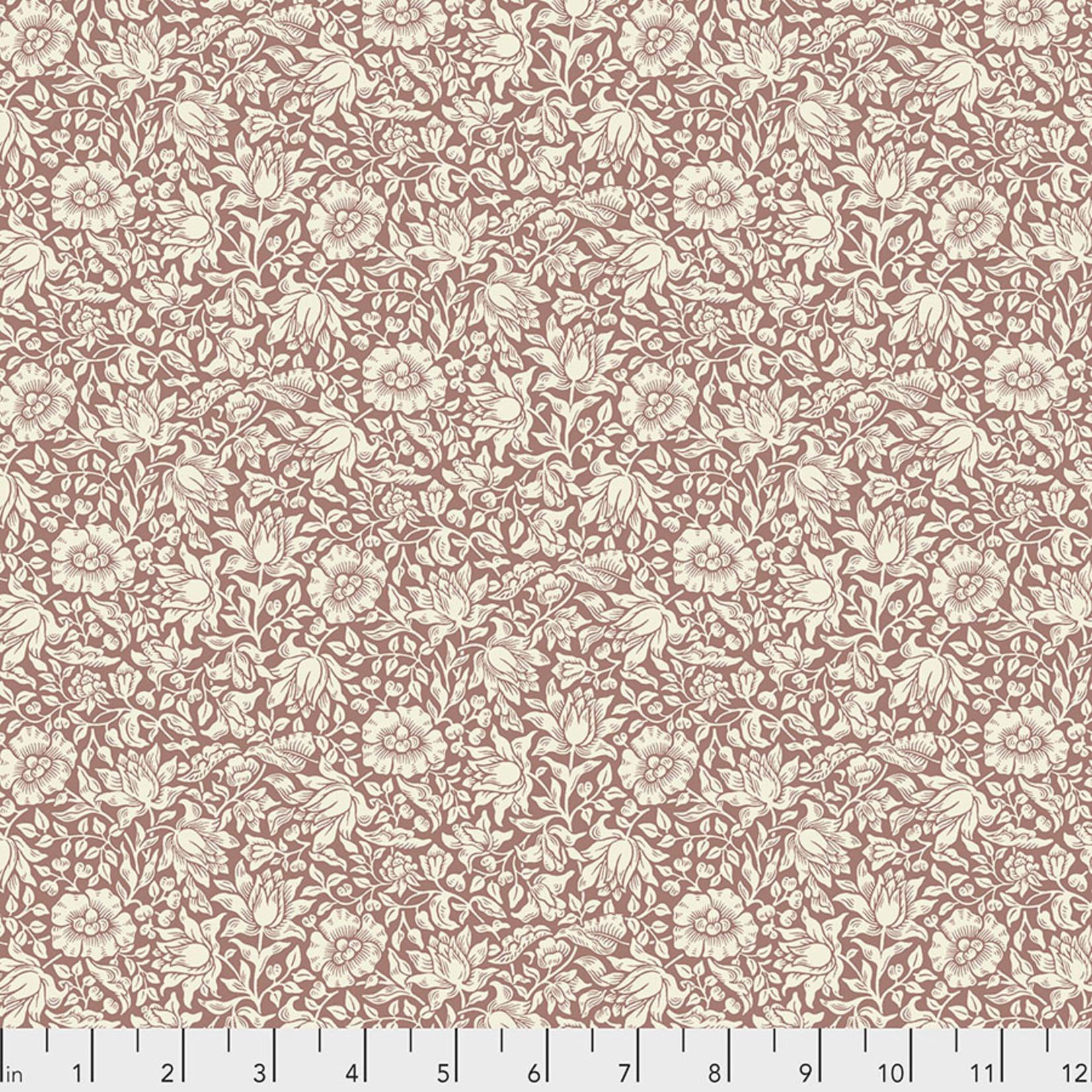 Morris & Co Orkney, Mallow - Rose (PWWM048) per cm or $16/m