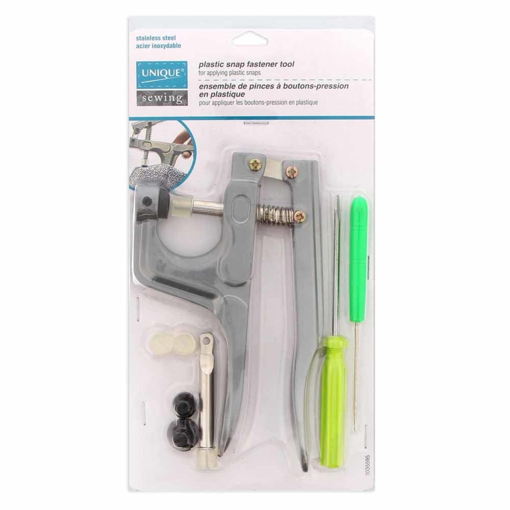 UNIQUE Plastic Snap Fastener Tool