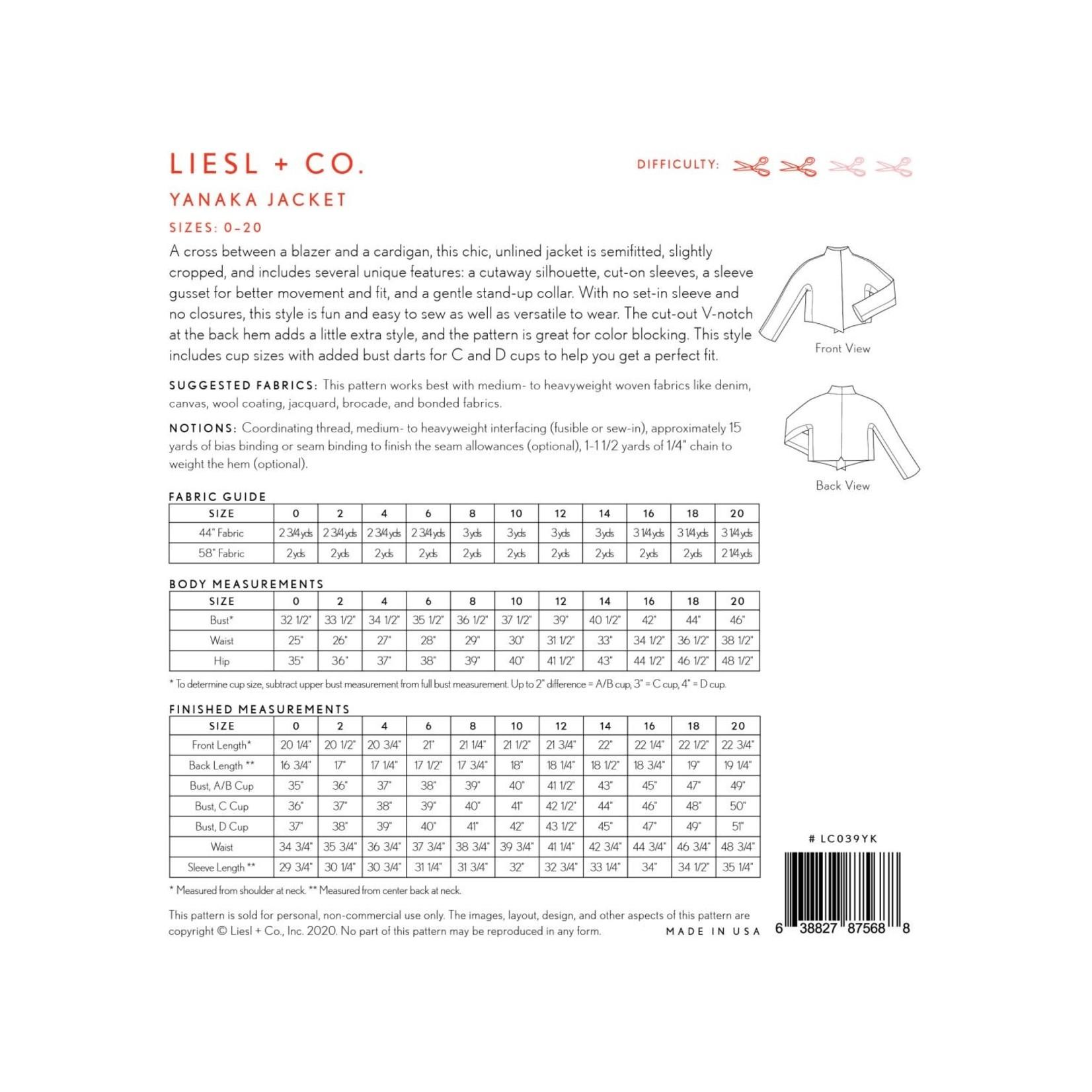 LIESL + CO Yanaka Jacket (Sizes 0-20)