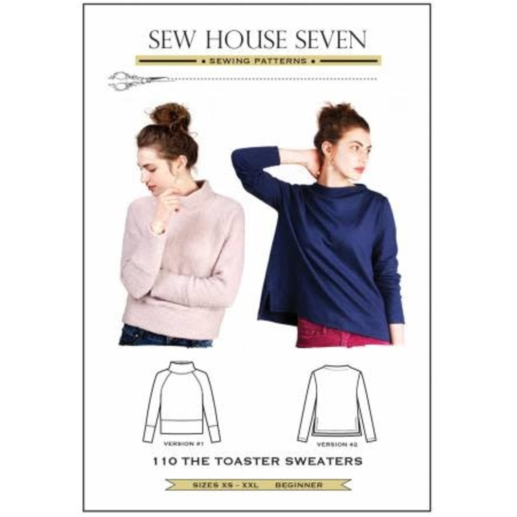 SEW HOUSE SEVEN TOASTER SWEATER PATTERN