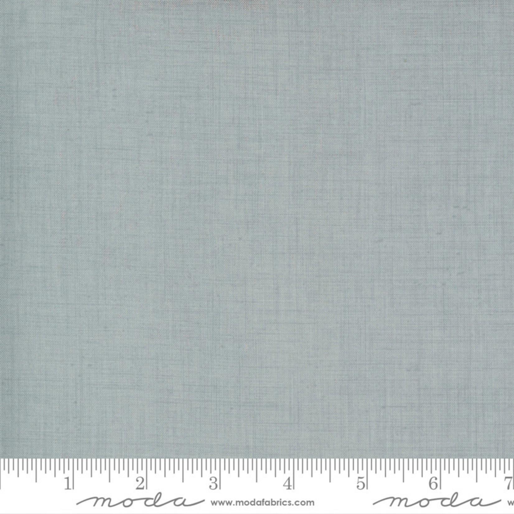 French General Jardins De Fleurs, Linen Texture, Ciel Blue 13529-169 $0.20 per cm or $20/m