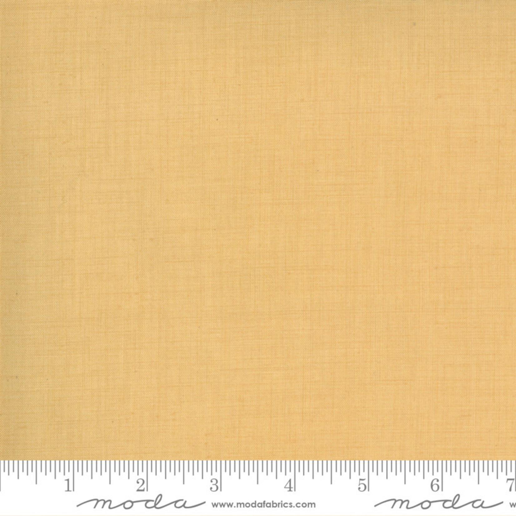 FRENCH GENERAL Jardins De Fleurs, Linen Texture, Saffron 13529-168 $0.20 per cm or $20/m