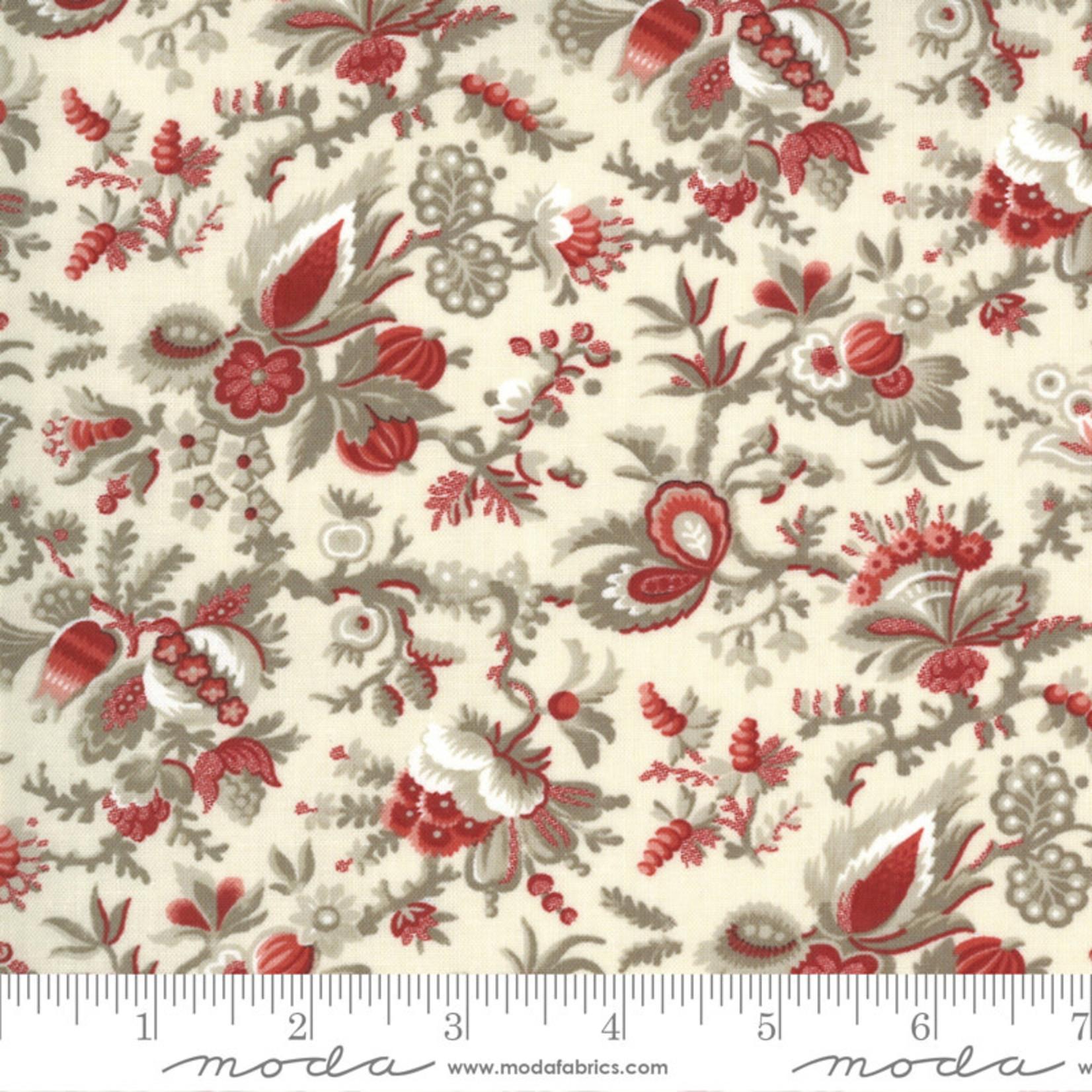 FRENCH GENERAL Jardins De Fleurs, Jardin Des Paradis, Pearl 13892-18 $0.20 per cm or $20/m