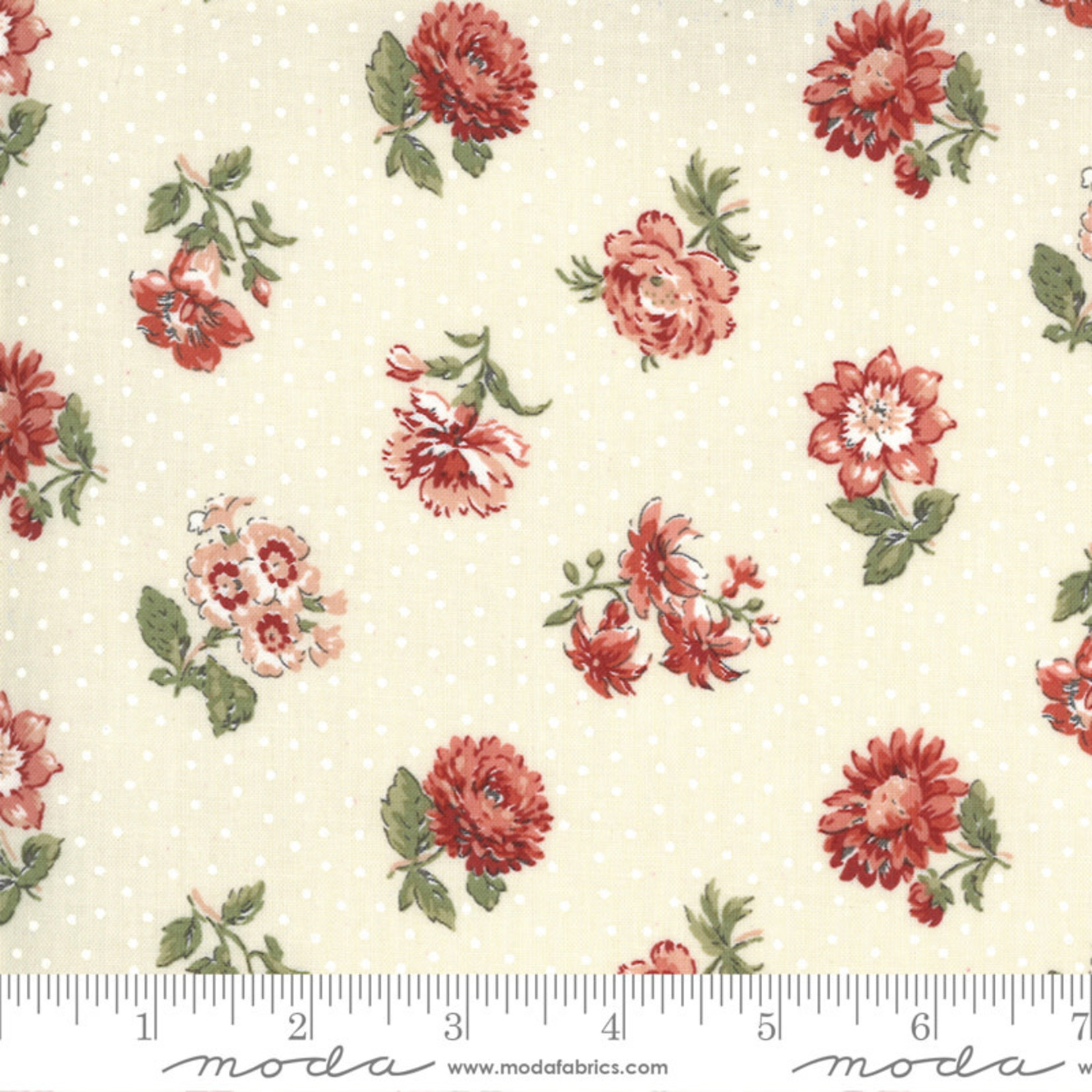 FRENCH GENERAL Jardins De Fleurs, Rayol, Pearl 13893-18 $0.20 per cm or $20/m