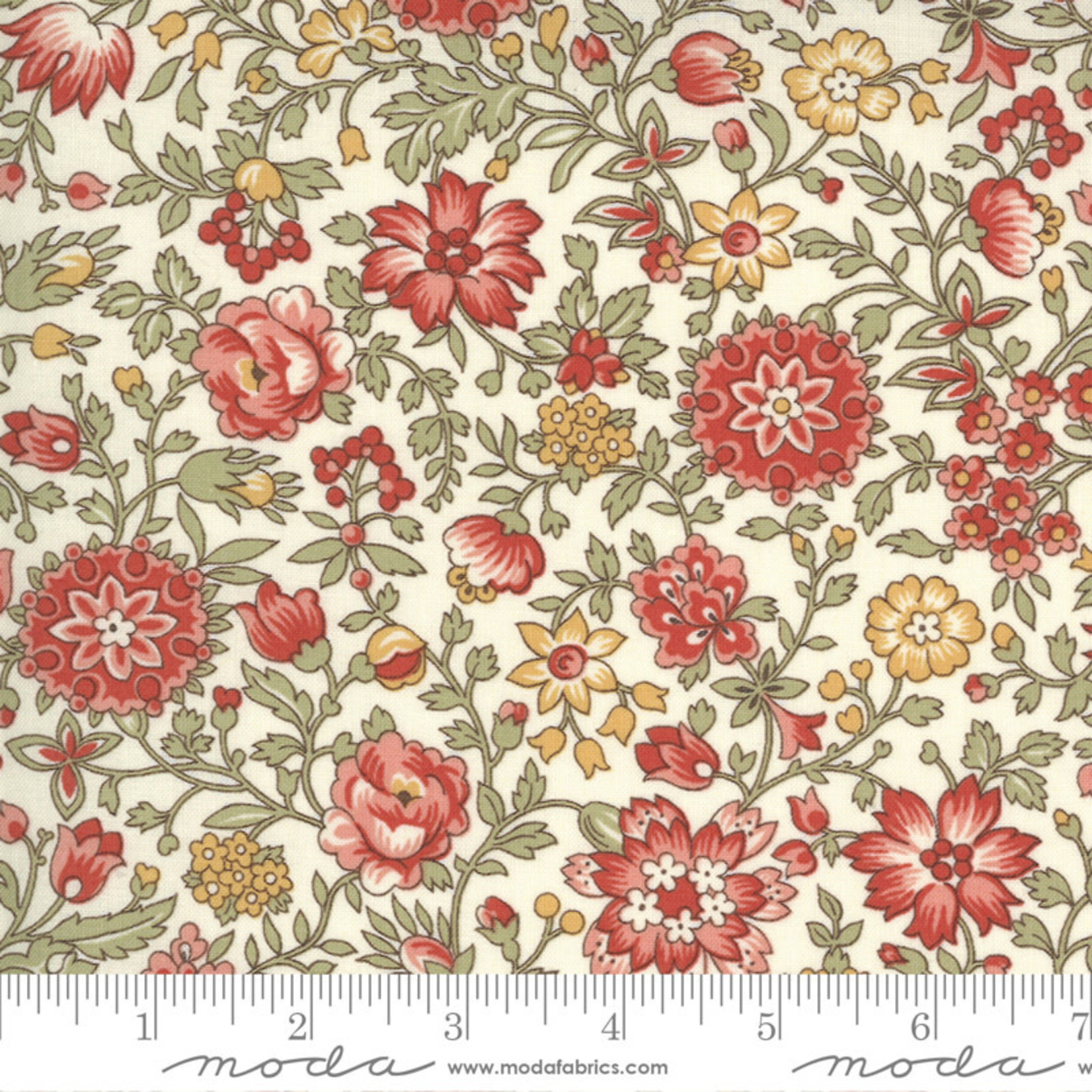 FRENCH GENERAL Jardins De Fleurs, Giverny, Pearl 13894-20 $0.20 per cm or $20/m
