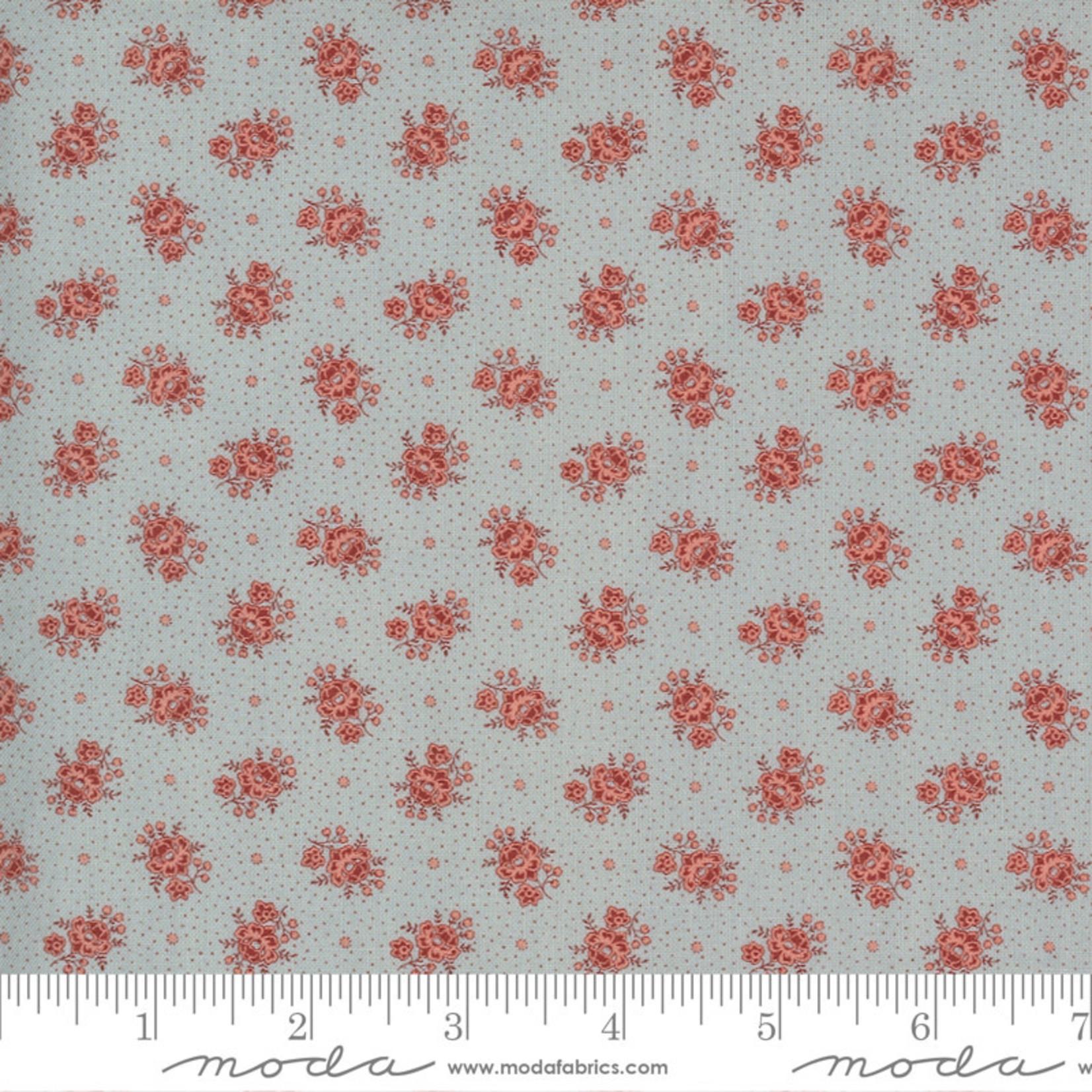 FRENCH GENERAL Jardins De Fleurs, Luxembourg, Ciel Blue 13896-16 $0.20 per cm or $20/m