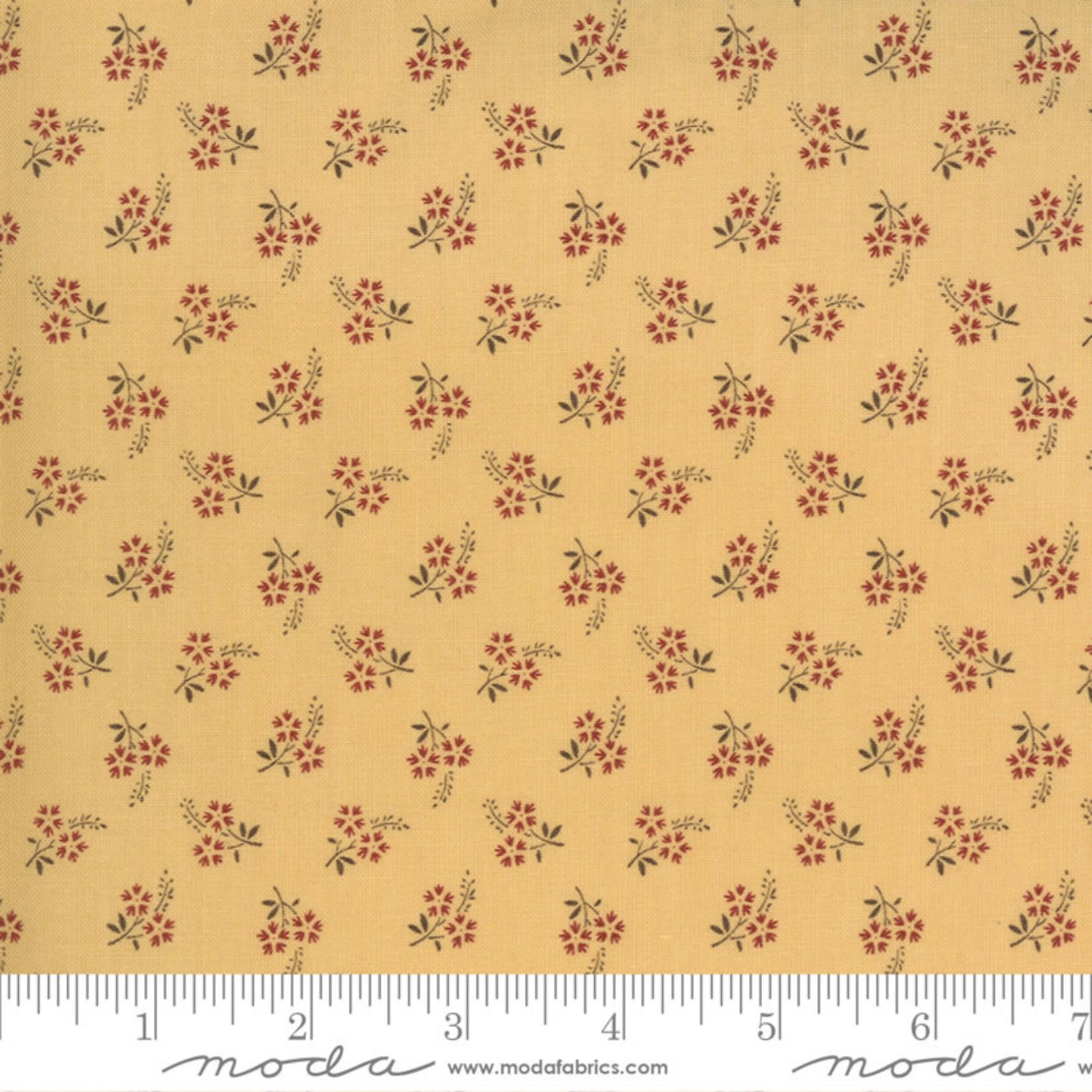 FRENCH GENERAL Jardins De Fleurs, Tuileries, Saffron 13897-16 $0.20 per cm or $20/m