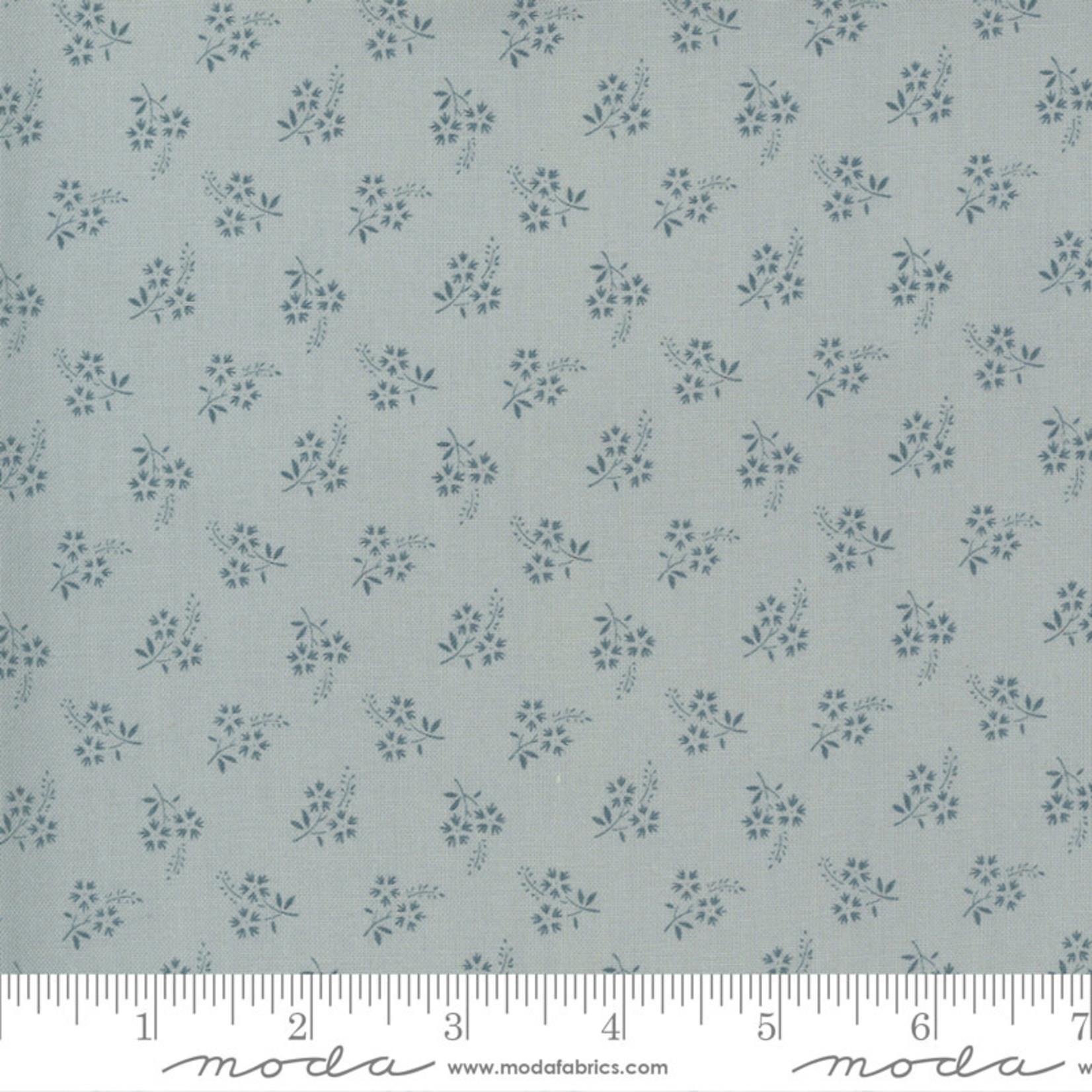 FRENCH GENERAL Jardins De Fleurs, Tuileries, Ciel Blue 13897-19 $0.20 per cm or $20/m