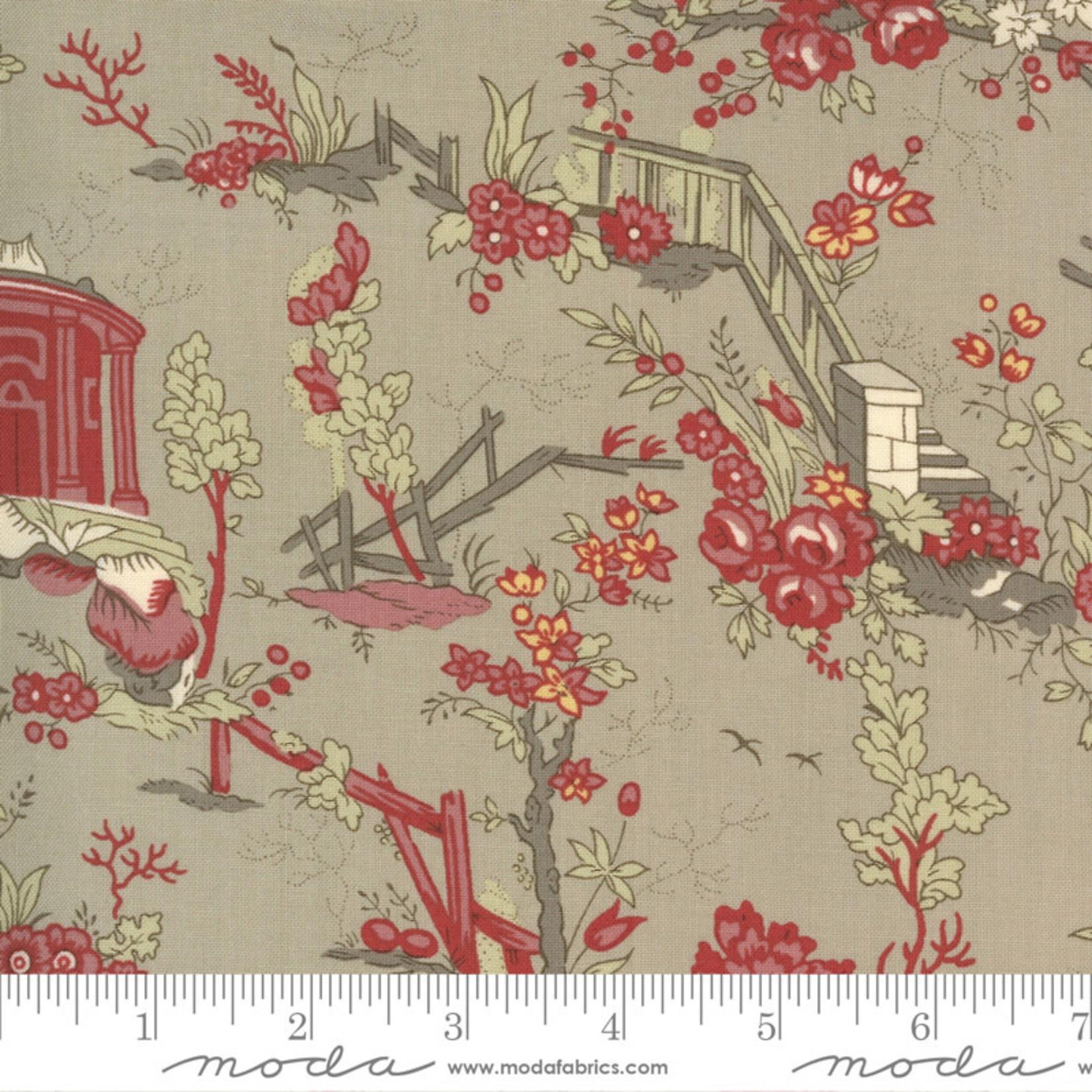 French General Jardins De Fleurs, Champs De Mars, Roche 13890-17 $0.20 per cm or $20/m