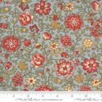 FRENCH GENERAL Jardins De Fleurs, Giverny, Ciel Blue 13894-22 $0.20 per cm or $20/m