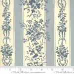 FRENCH GENERAL Jardins De Fleurs, Trocadero, Ciel Blue 13891-18 $0.20 per cm or $20/m