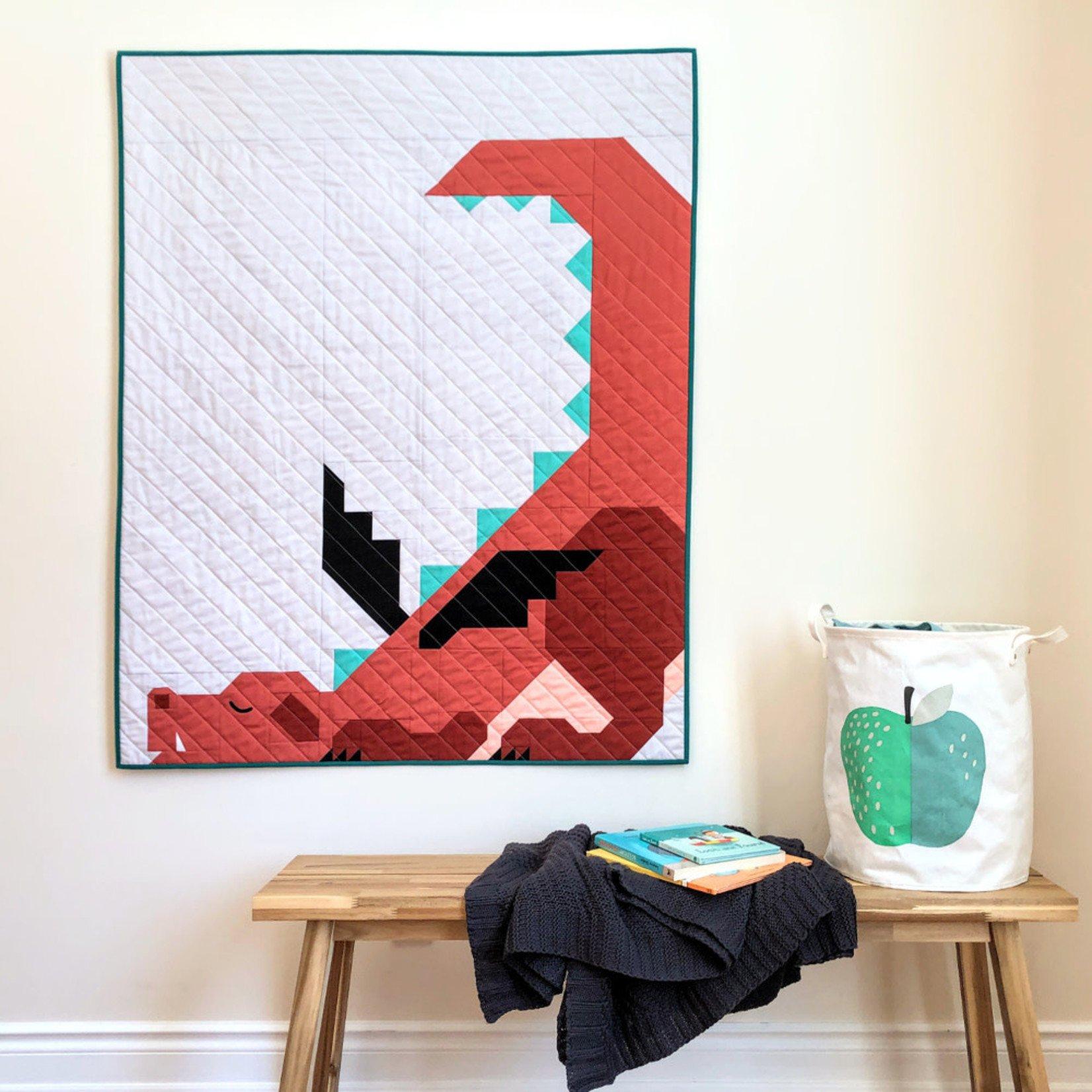 Apples & Beavers Dragon Dreams Quilt Pattern