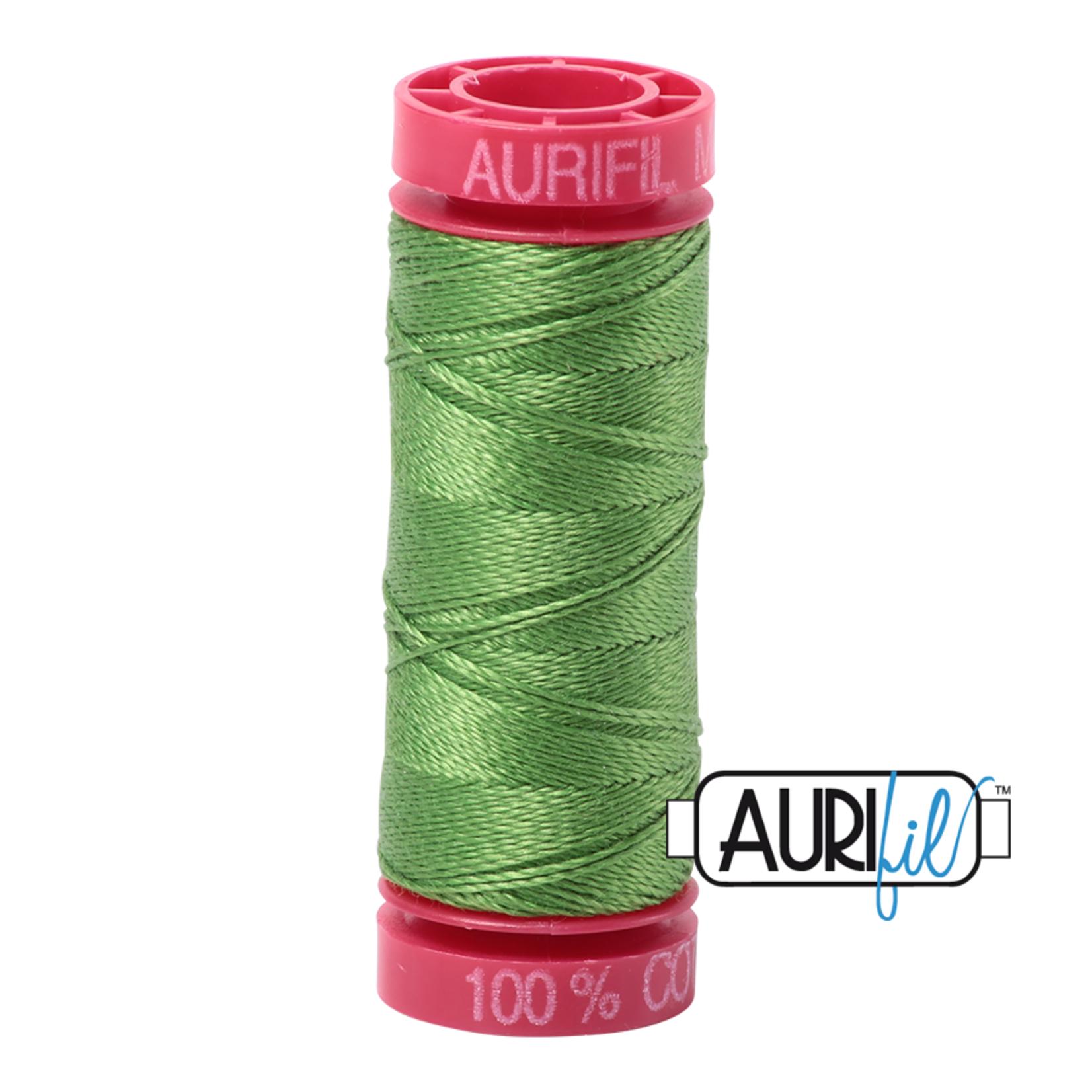 AURIFIL AURIFIL 12 WT Grass Green 1114 Small Spool