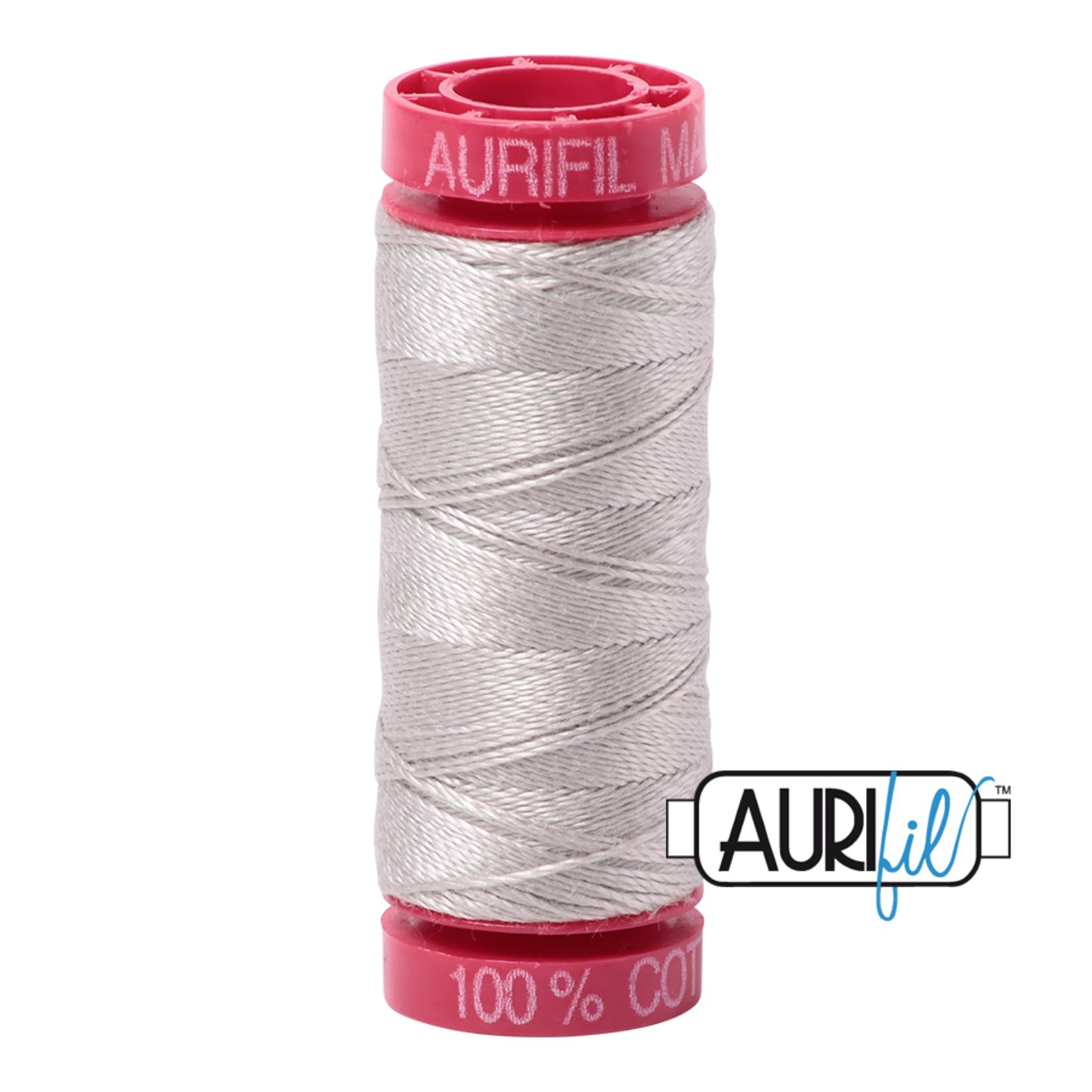 AURIFIL AURIFIL 12 WT Moonshine 6724 Small Spool