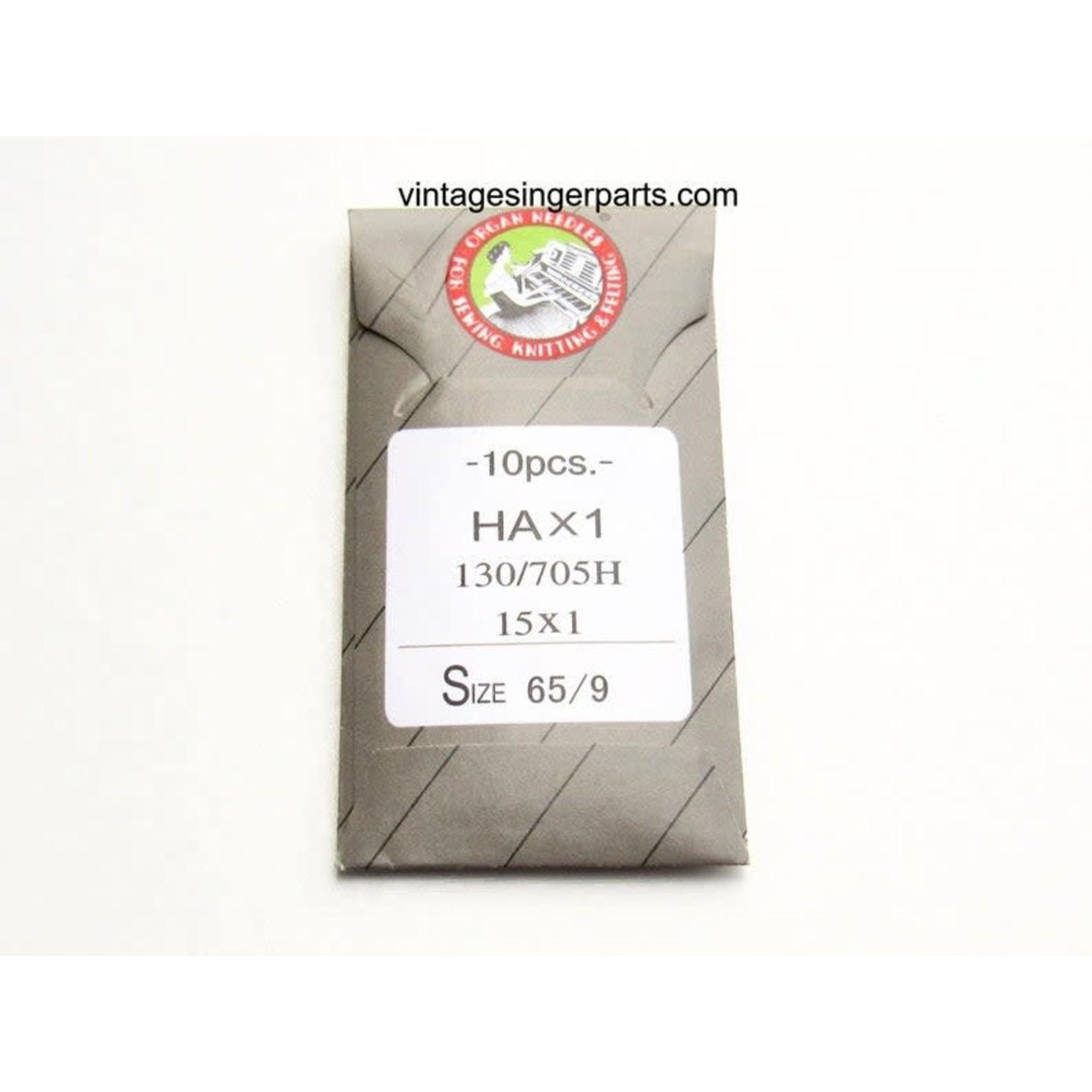 ORGAN HAx1 130/705H 15x1 #9/65 Regular Point Needle (10 pack)