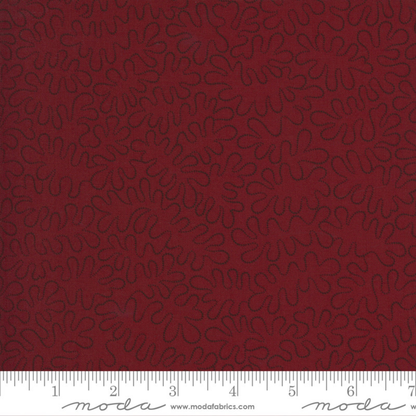 Kansas Troubles Quilters Prairie Dreams, Stone Pathway, Red 9658 13 $0.20 per cm or $20/m