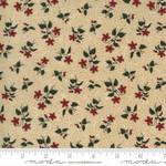 Kansas Troubles Quilters Prairie Dreams, Blossoms Florals, Tan 9652 11 $0.20 per cm or $20/m
