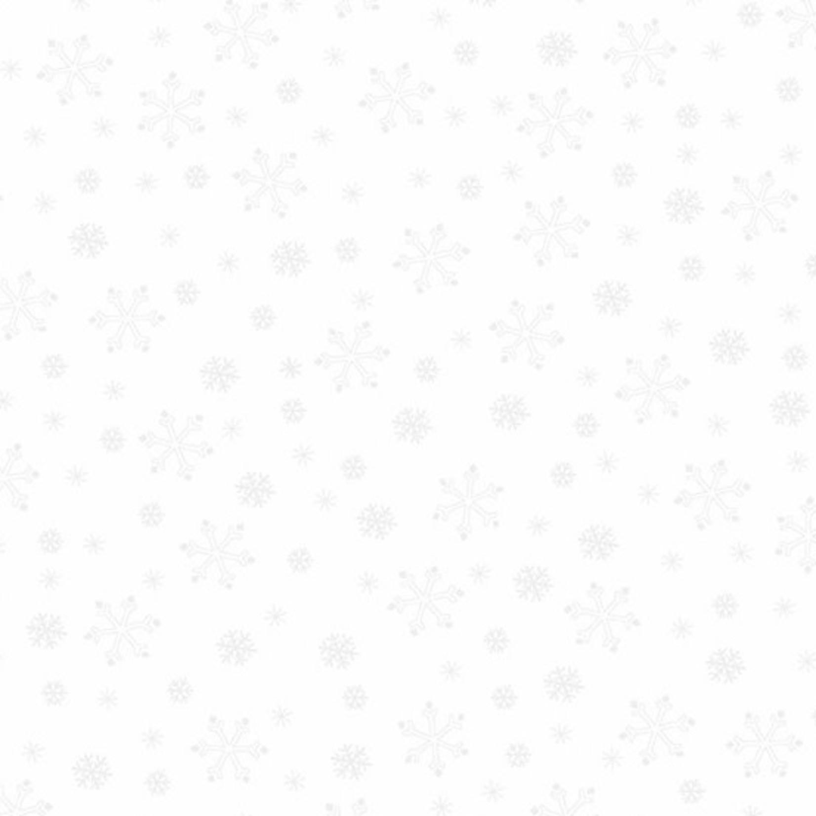 Andover Century Whites, Snowflakes CS-9671-WW $0.18 per cm or $18/m