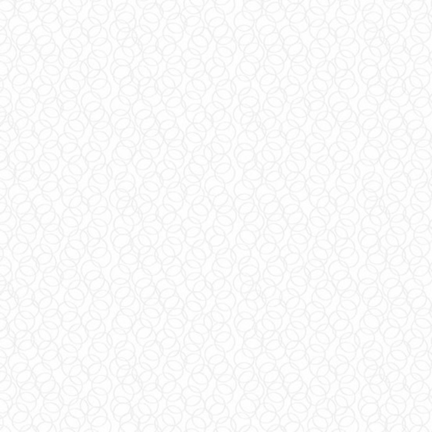ANDOVER Century Whites, Circles CS-9676-WW $0.18 per cm or $18/m