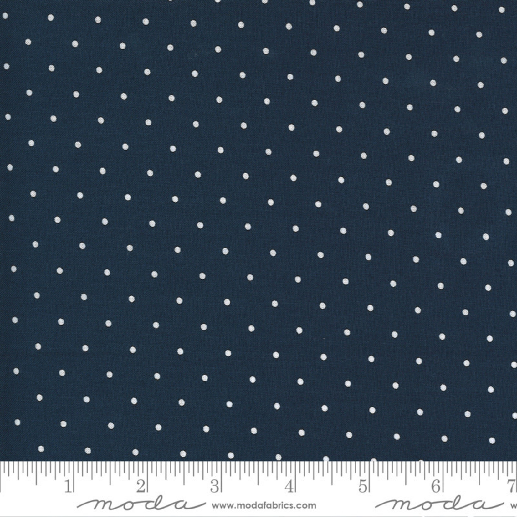 Bonnie & Camille Sunday Stroll, Sweet Dot, Navy 55226 15 $0.20 per cm or $20/m