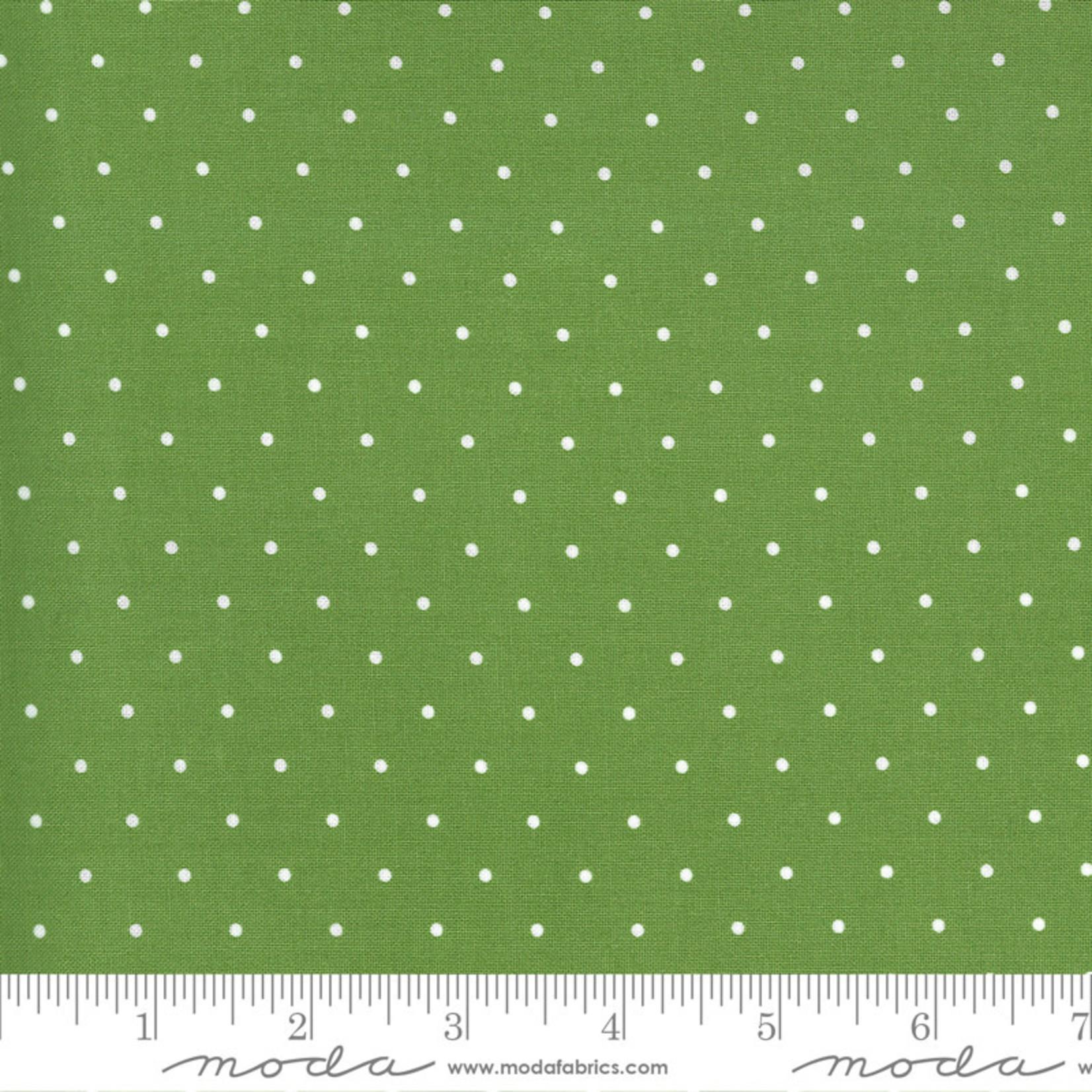 Bonnie & Camille Sunday Stroll, Sweet Dot, Green 55226 20 $0.20 per cm or $20/m