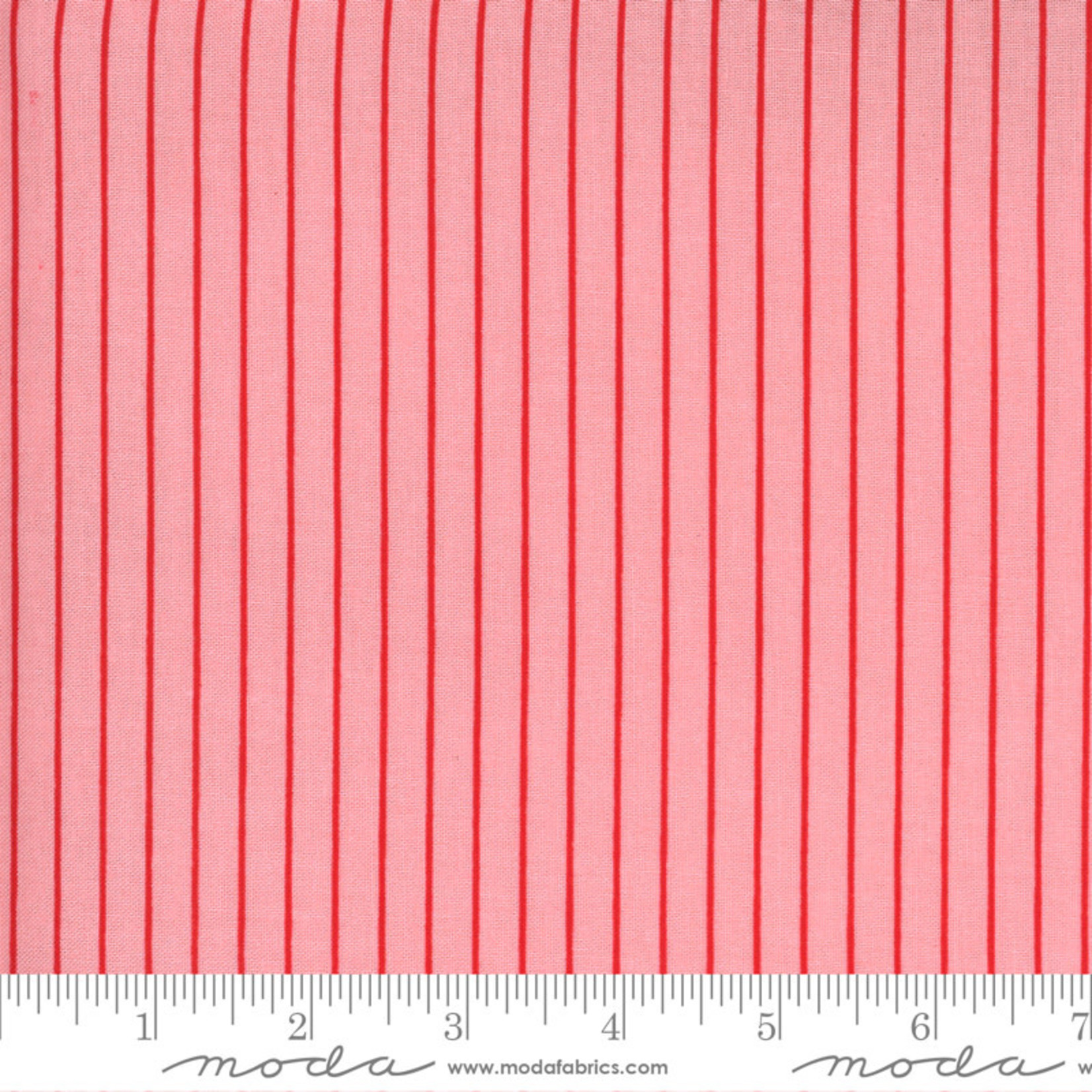 Bonnie & Camille Sunday Stroll, Wide Stripe, Pink 55228 13 $0.20 per cm or $20/m