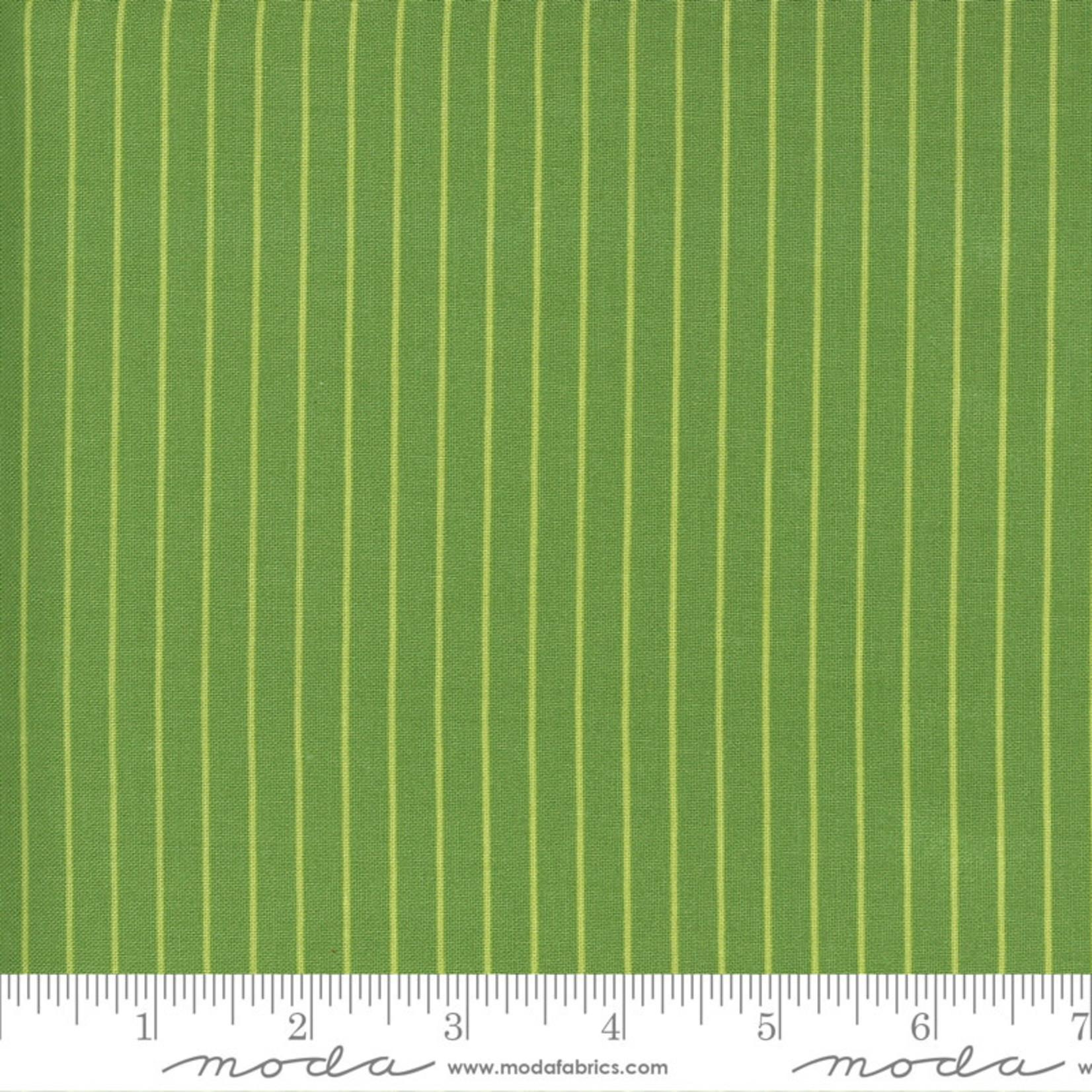 Bonnie & Camille Sunday Stroll, Wide Stripe, Green 55228 20 $0.20 per cm or $20/m