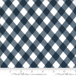 Bonnie & Camille Sunday Stroll, Picnic Gingham, Navy 55227 15 $0.20 per cm or $20/m