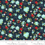 Bonnie & Camille Sunday Stroll, Little Floral, Navy 55222 15 $0.20 per cm or $20/m
