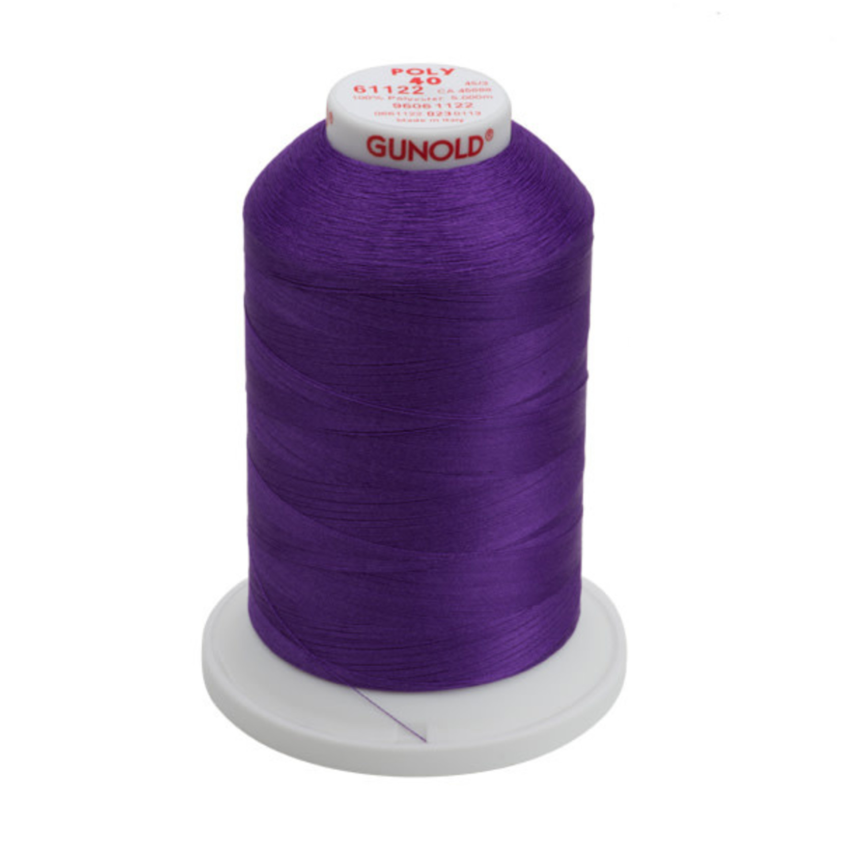 Gunold Poly 40 WT 61122 Purple 1000m