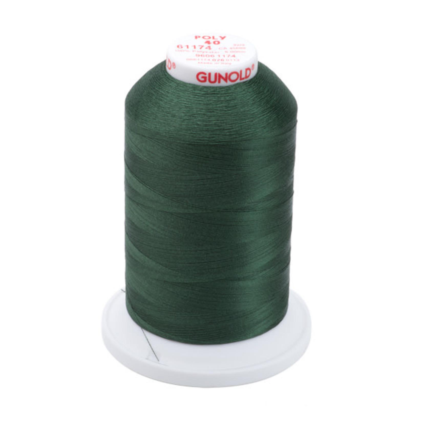 Gunold Poly 40 WT 61174 Dark Pine Green 1000m
