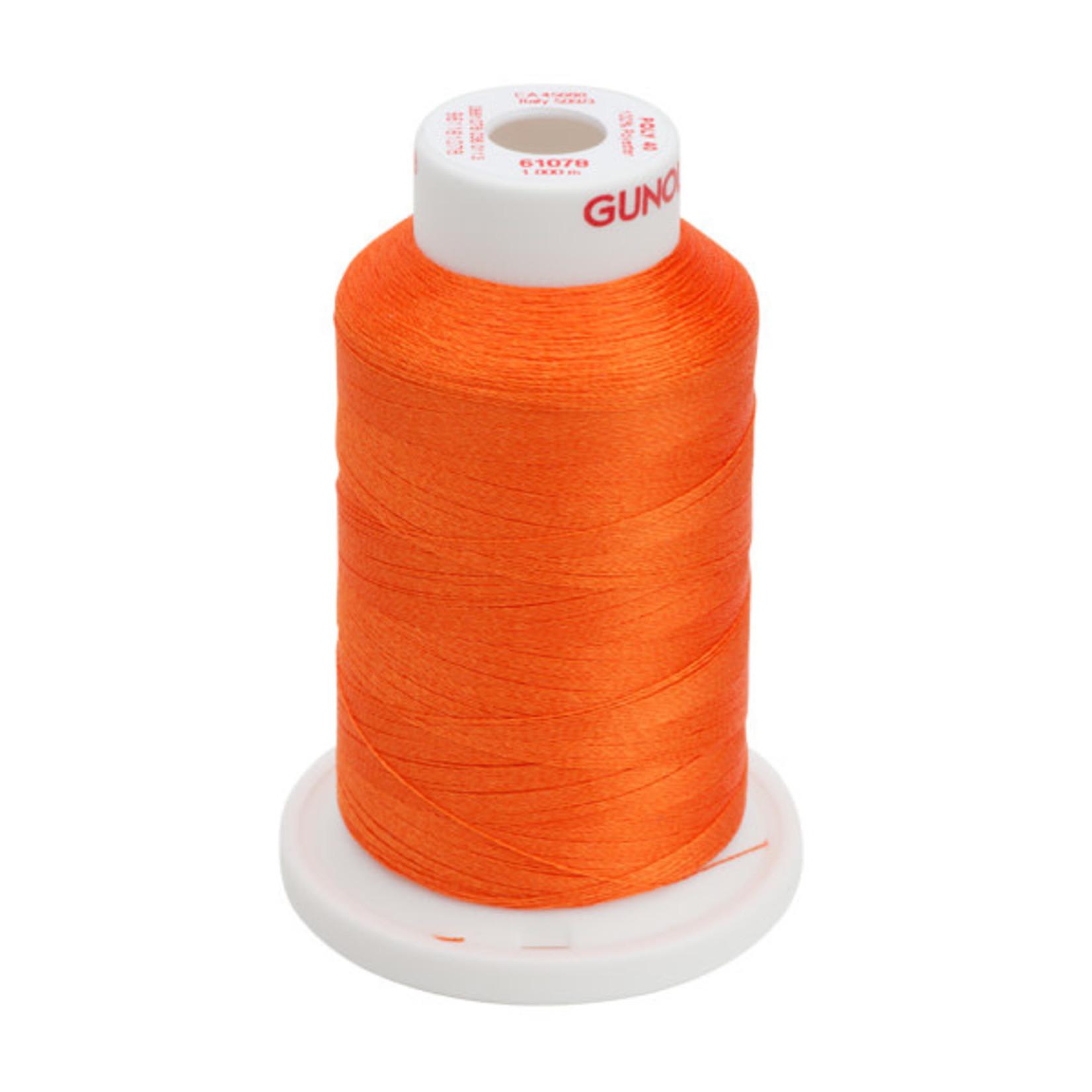 Gunold Poly 40 WT 61078 Tangerine 1000m