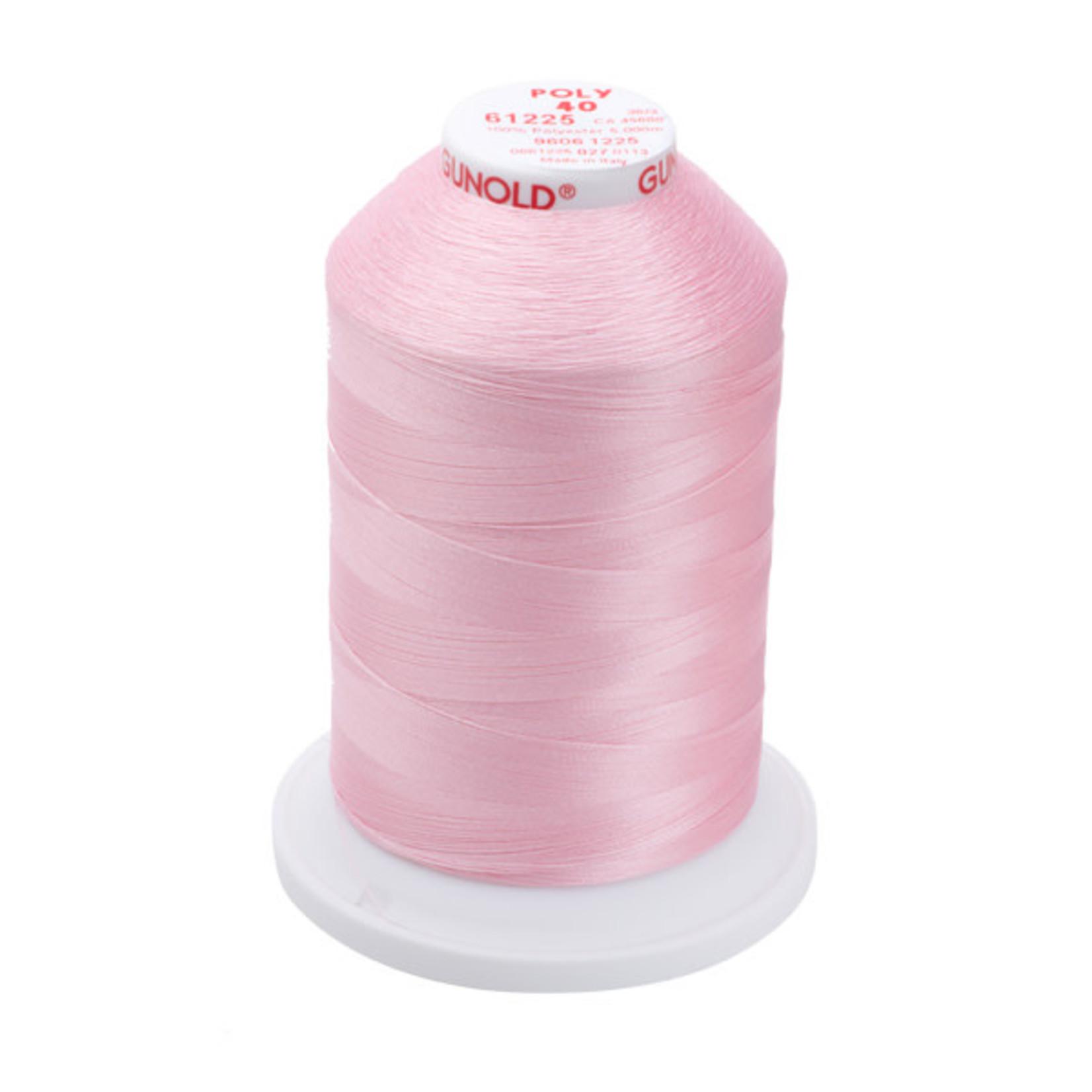 Gunold Poly 40 WT 61225 Pastel Pink 1000m