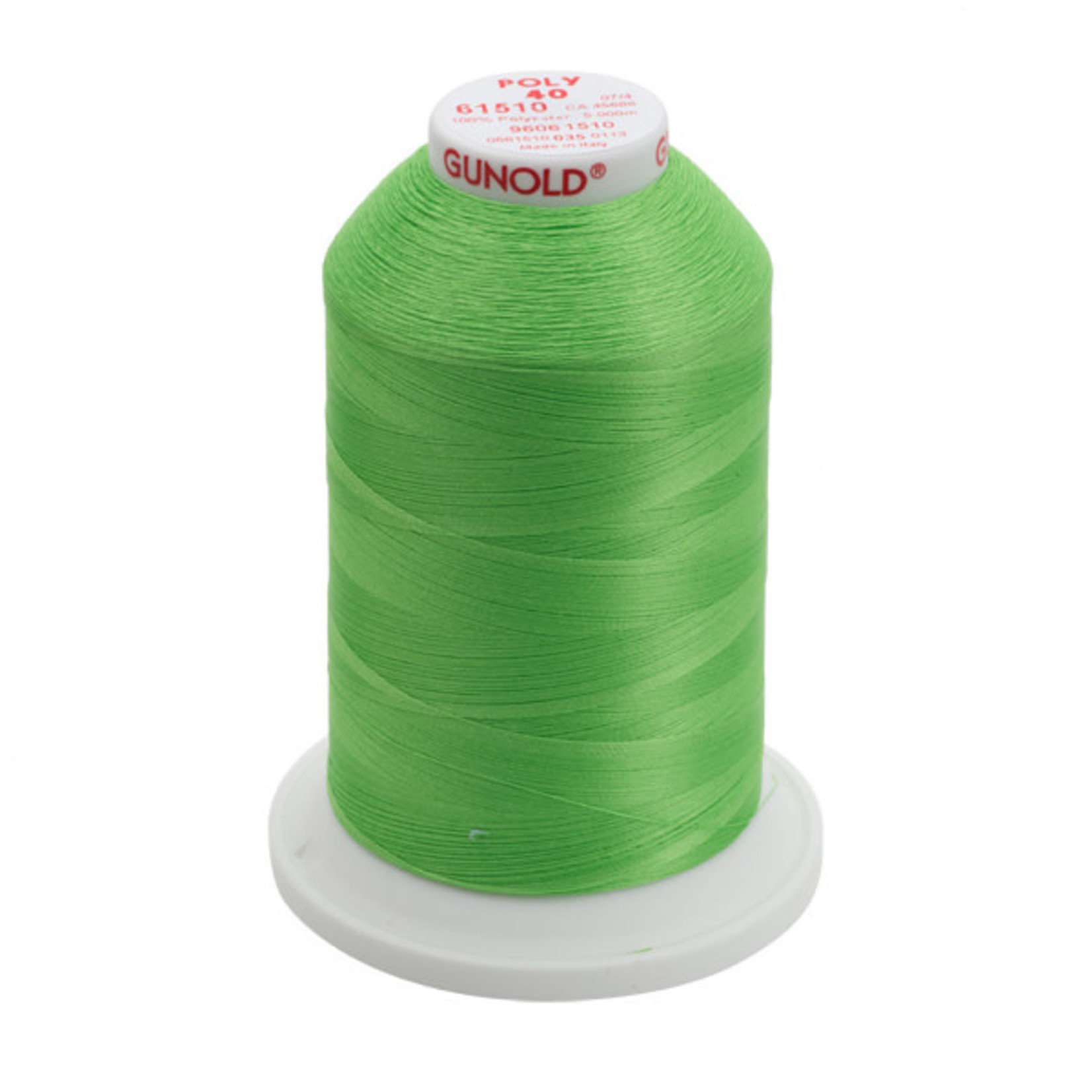 Gunold Poly 40 WT 61510 Lime Green 1000m