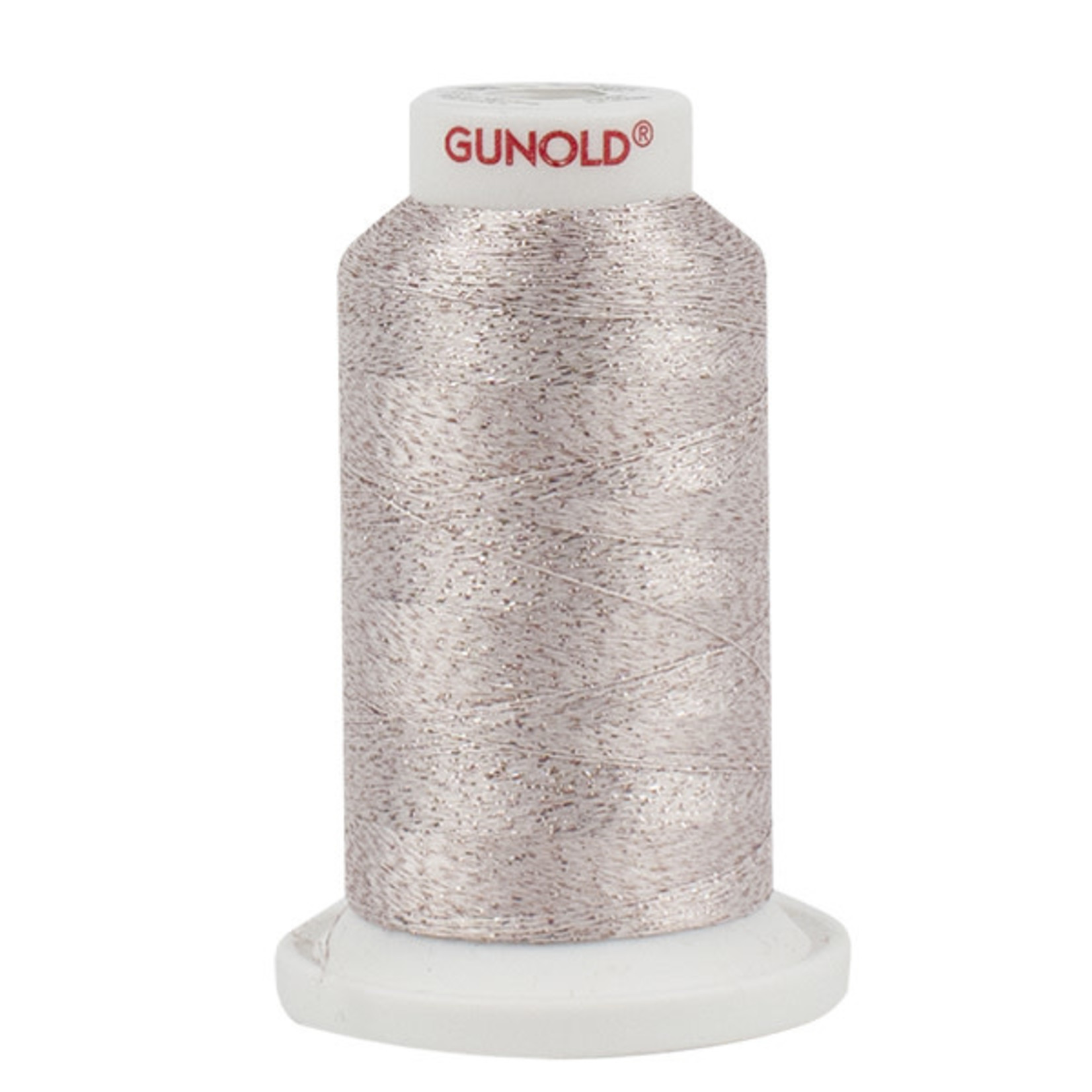 Gunold Poly Sparkle™ (Star™) Mini-King Cone 1,100 YD, 30 Wt, Light Blush with Tone On Tone Sparkle 50517