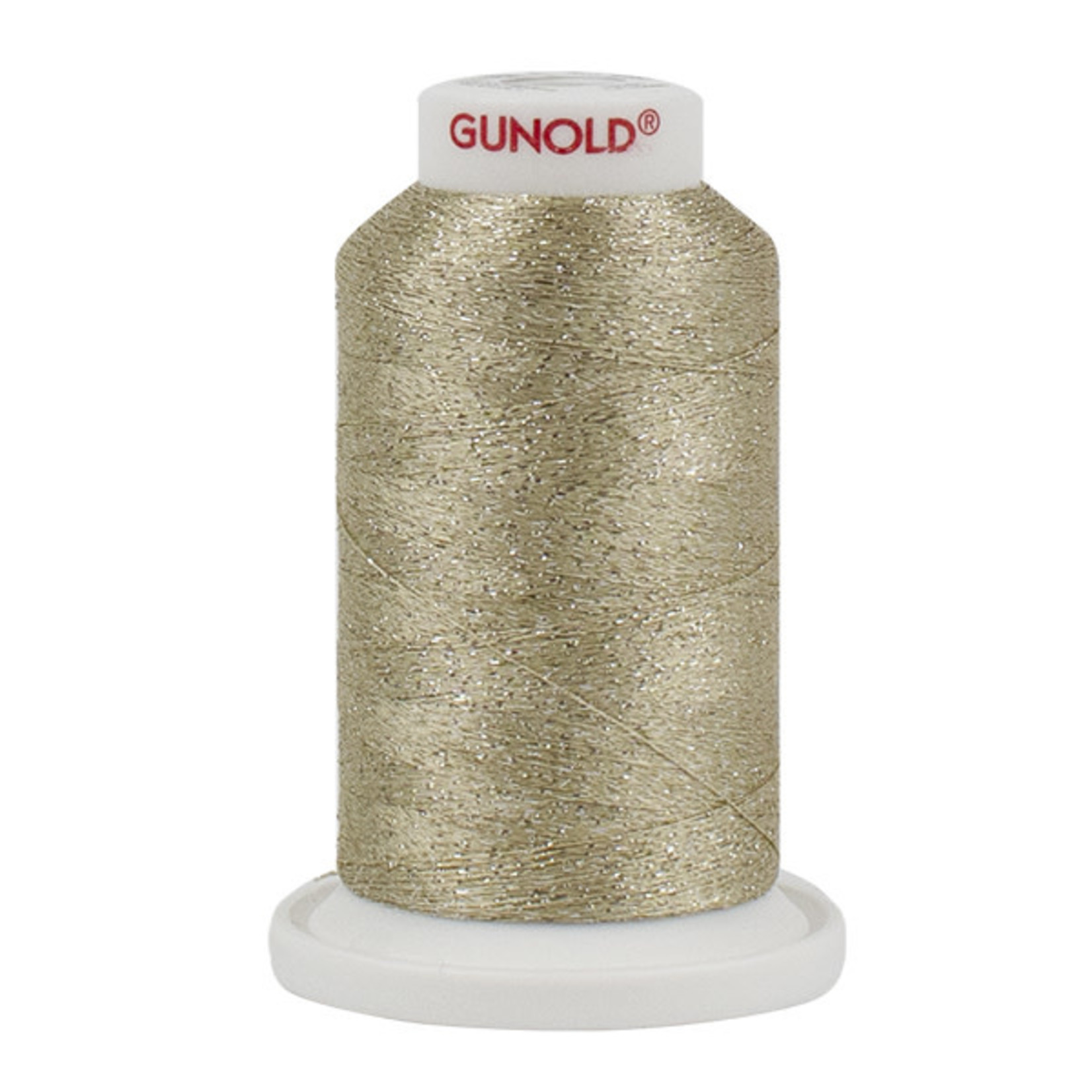 Gunold Poly Sparkle™ (Star™) Mini-King Cone 1,100 YD, 30 Wt, Beige with Tone On Tone Sparkle 50550