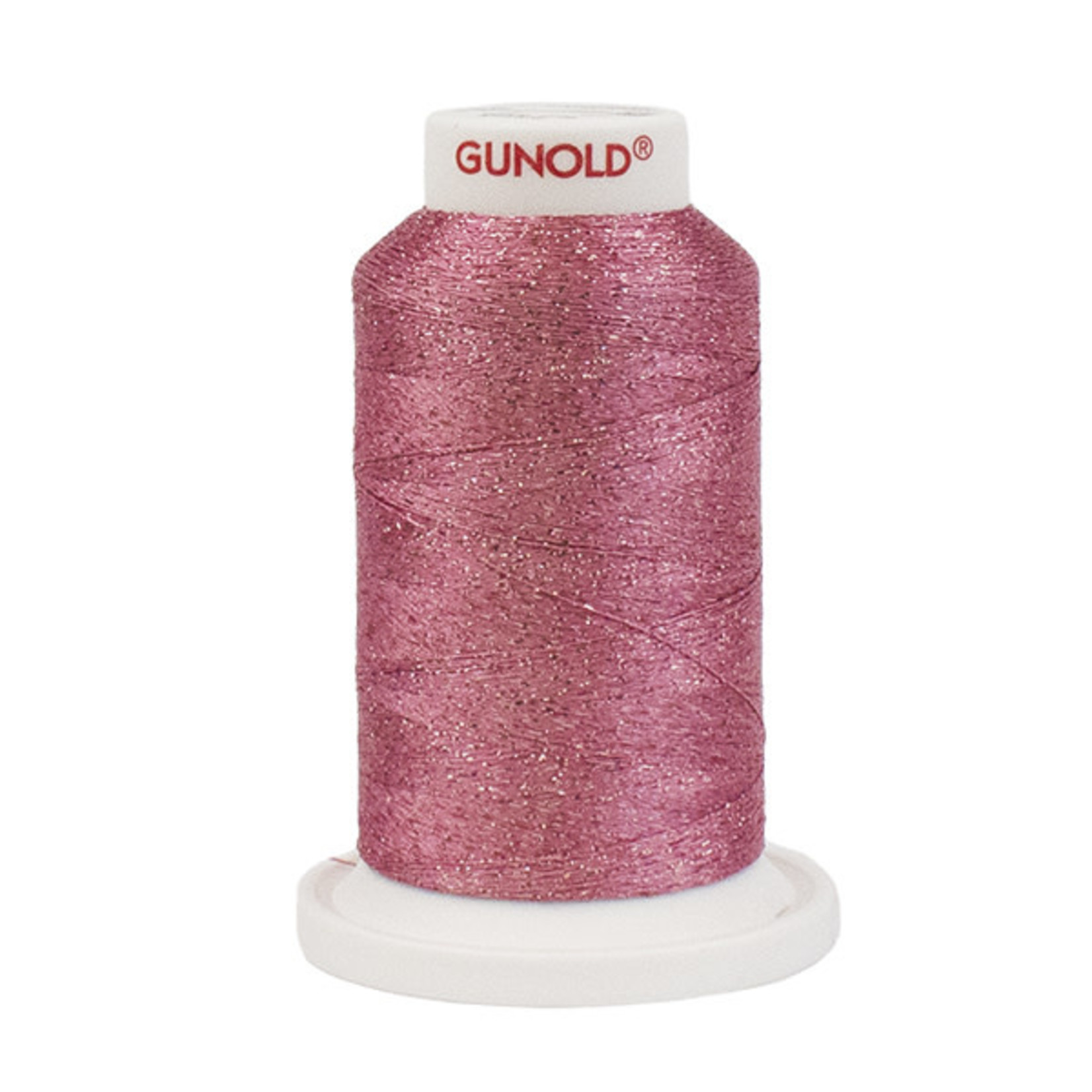 Gunold Poly Sparkle™ (Star™) Mini-King Cone 1,100 YD, 30 Wt, Lt Burgundy with Tone On Tone Sparkle 50554