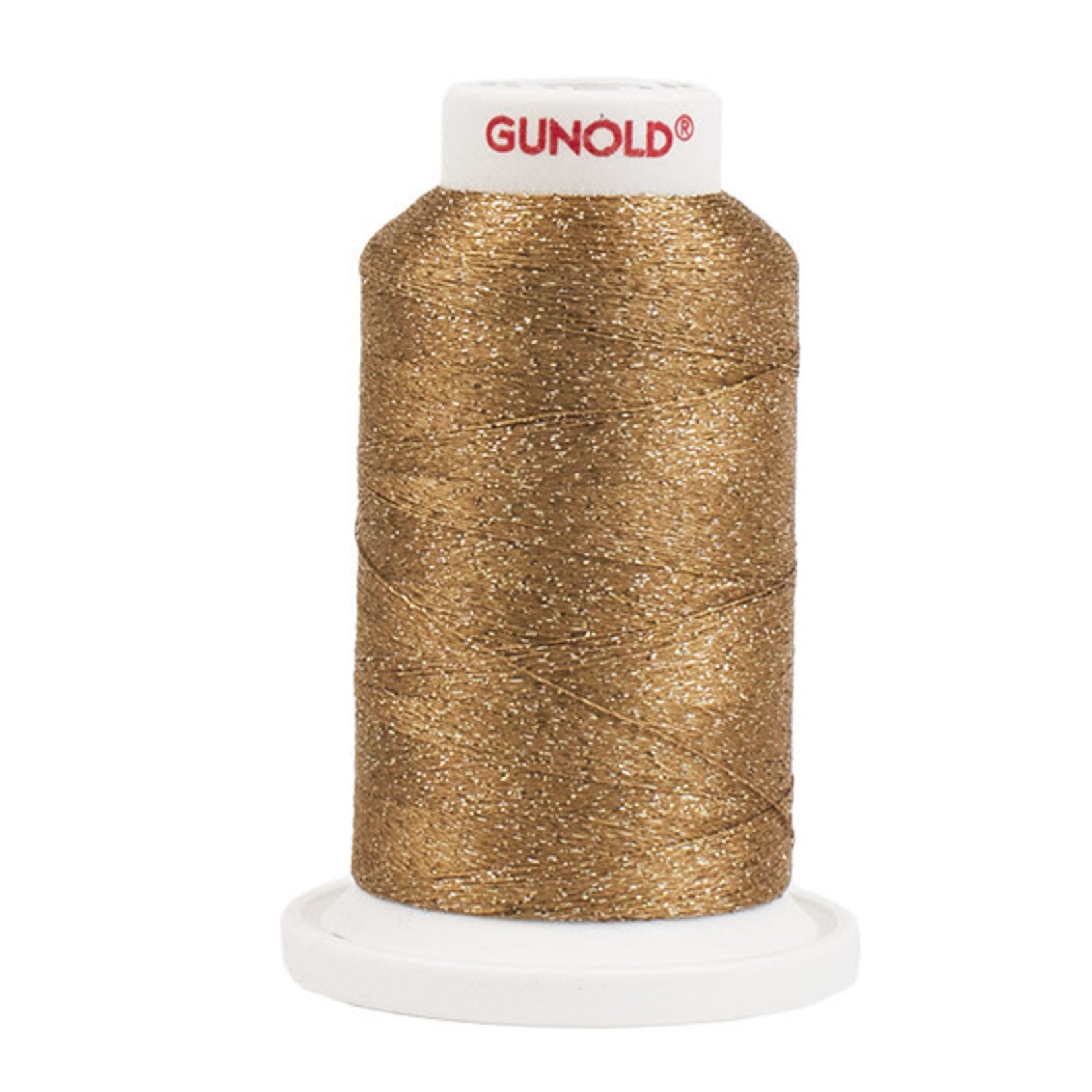 Gunold Poly Sparkle™ (Star™) Mini-King Cone 1,100 YD, 30 Wt, Medium Tawny Tan with Tone On Tone Sparkle 50578