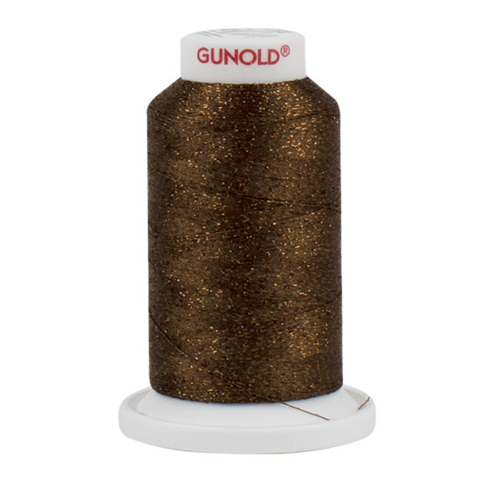 Gunold Poly Sparkle™ (Star™) Mini-King Cone 1,100 YD, 30 Wt, Russet with Copper Sparkle 50589