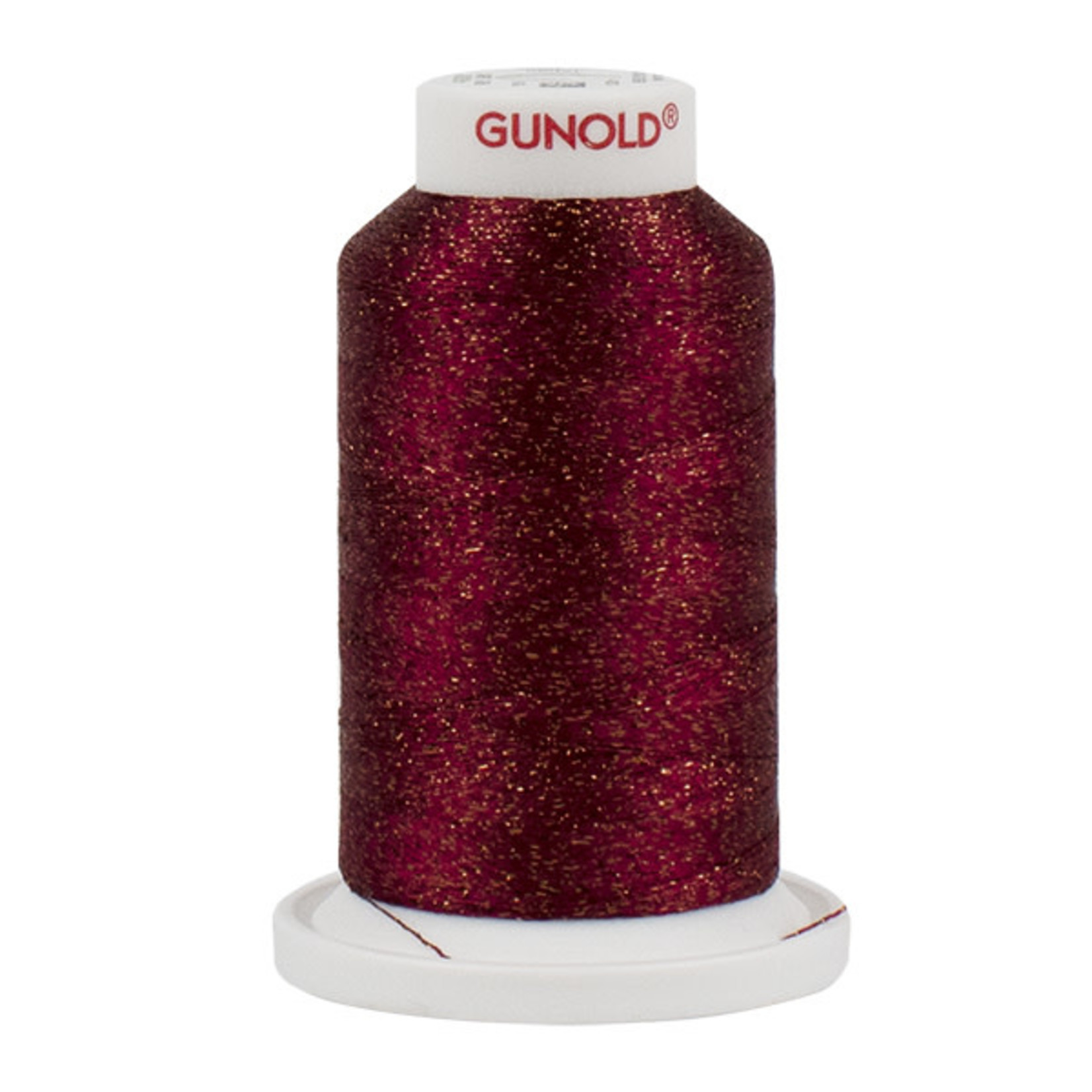 Gunold Poly Sparkle™ (Star™) Mini-King Cone 1,100 YD, 30 Wt, Claret with Copper Sparkle 50591