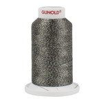 Gunold Poly Sparkle™ (Star™) Mini-King Cone 1,100 YD, 30 Wt, Putty with Silver Sparkle 50621