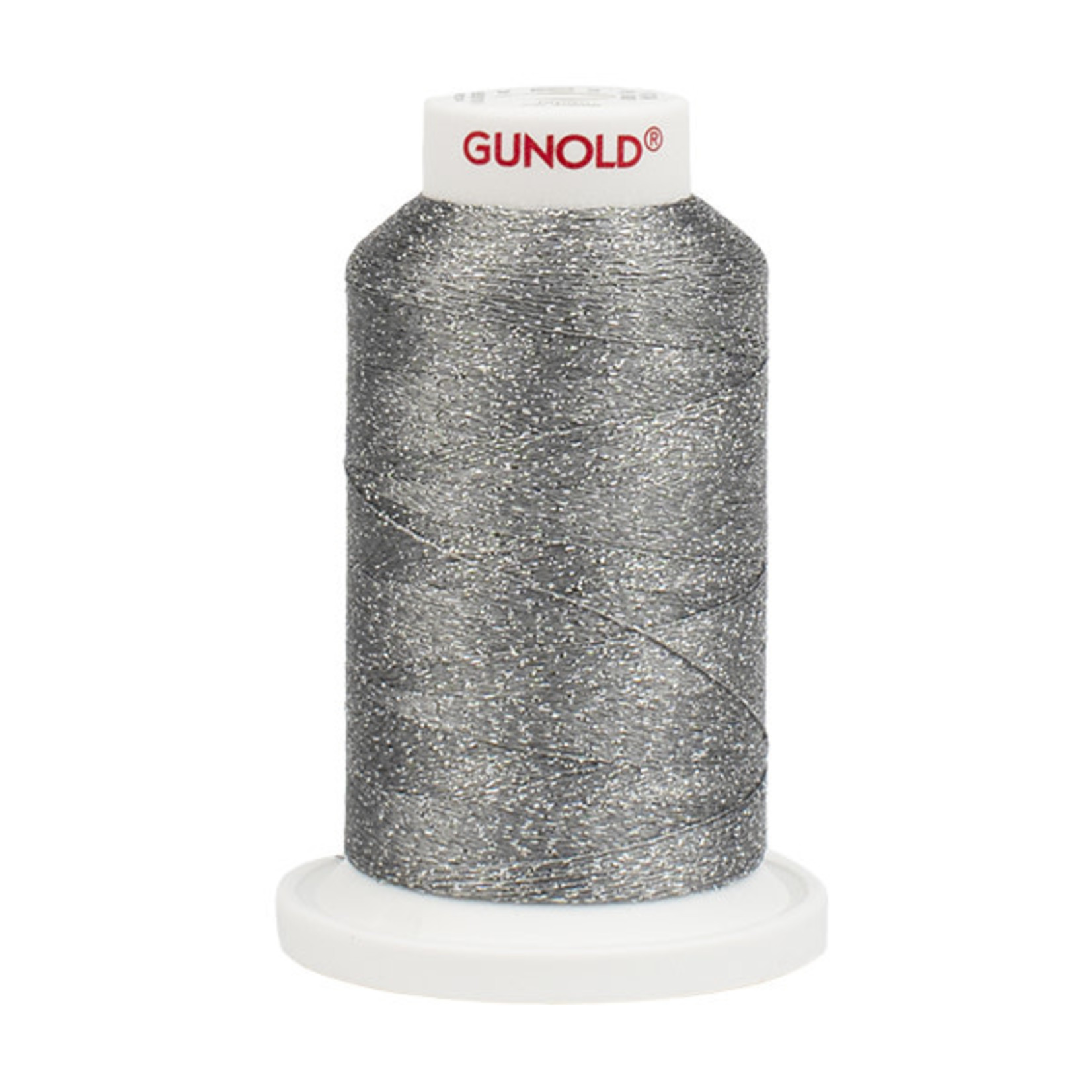 Gunold Poly Sparkle™ (Star™) Mini-King Cone 1,100 YD, 30 Wt, Light Cool Gray with Tone On Tone Sparkle 50626