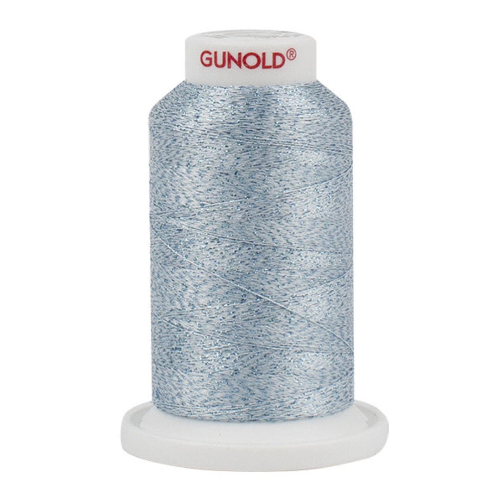 Gunold Poly Sparkle™ (Star™) Mini-King Cone 1,100 YD, 30 Wt, Jade Tint with Tone On Tone Sparkle 50632