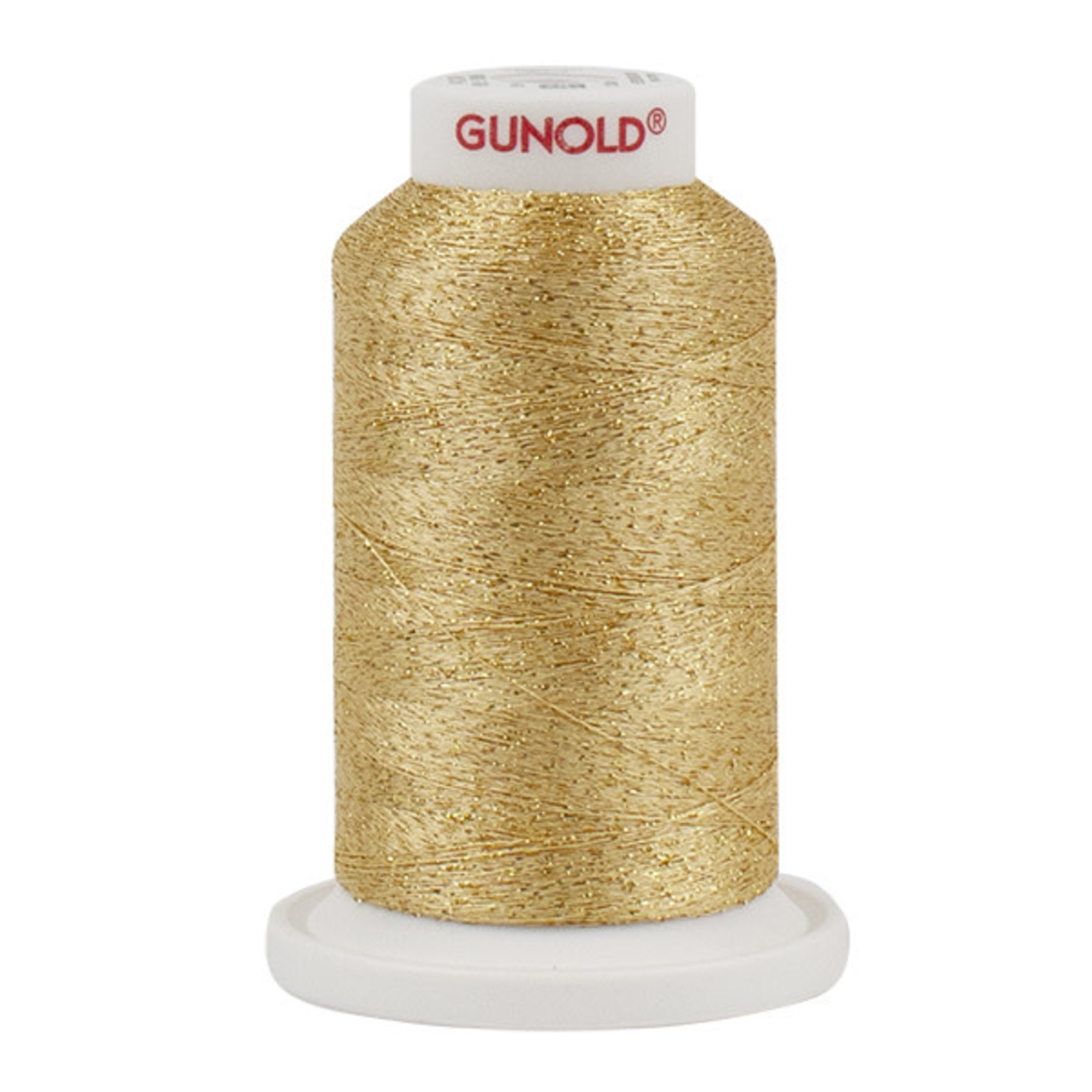 Gunold Poly Sparkle™ (Star™) Mini-King Cone 1,100 YD, 30 Wt, Gold with Gold Sparkle 50905
