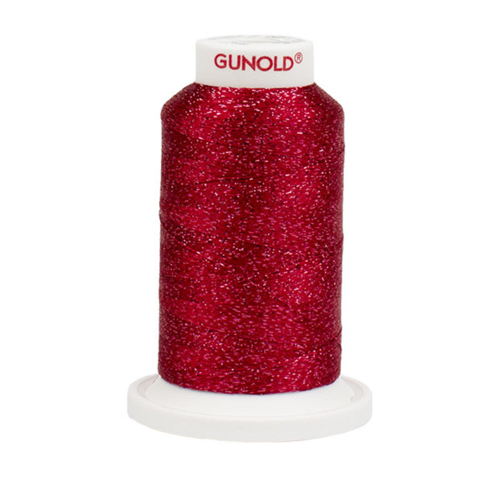 Gunold Poly Sparkle™ (Star™) Mini-King Cone 1,100 YD, 30 Wt, Burgundy with Tone On Tone Sparkle 50906