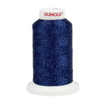 Gunold Poly Sparkle™ (Star™) Mini-King Cone 1,100 YD, 30 Wt, Medium Navy with Tone On Tone Sparkle 50911